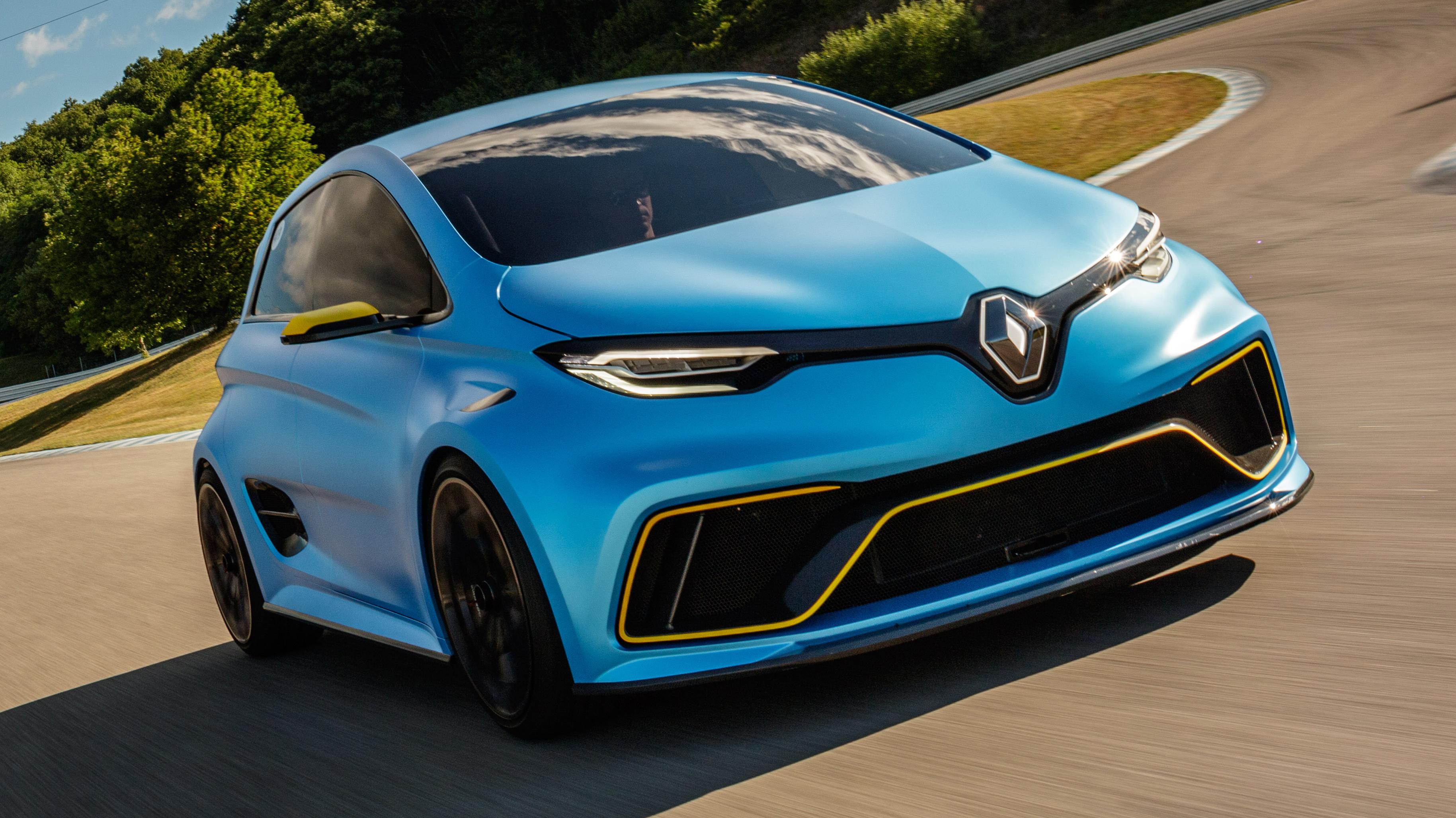 Renault Zoe e-Sport front