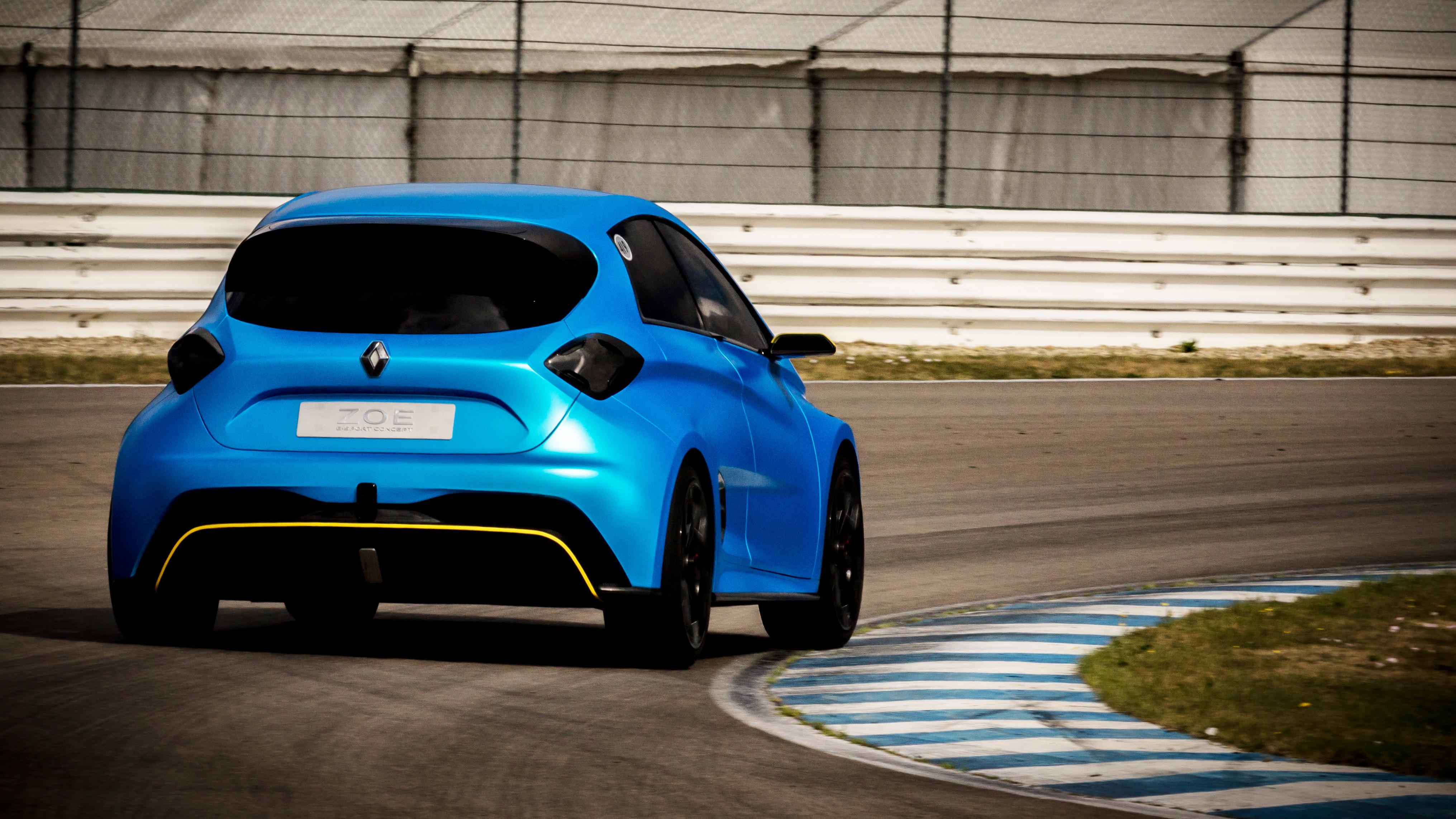 Renault Zoe e-Sport rear