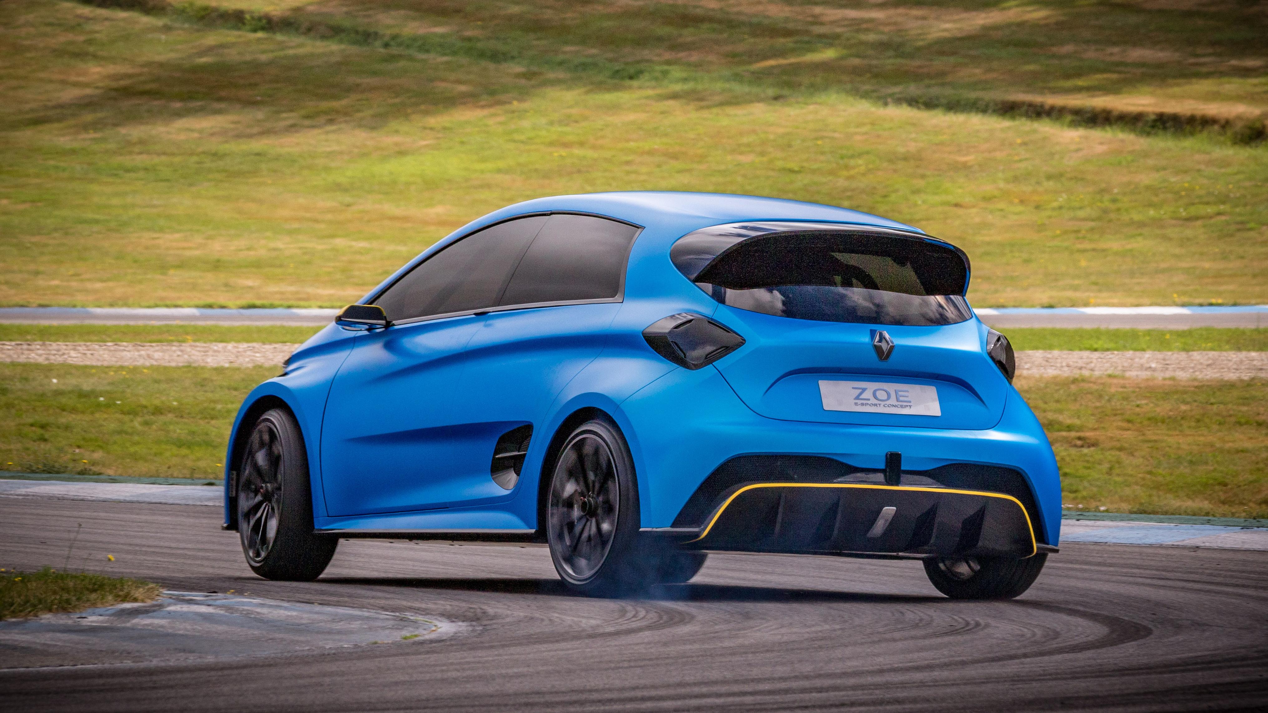 Renault Zoe e-Sport rear quarter