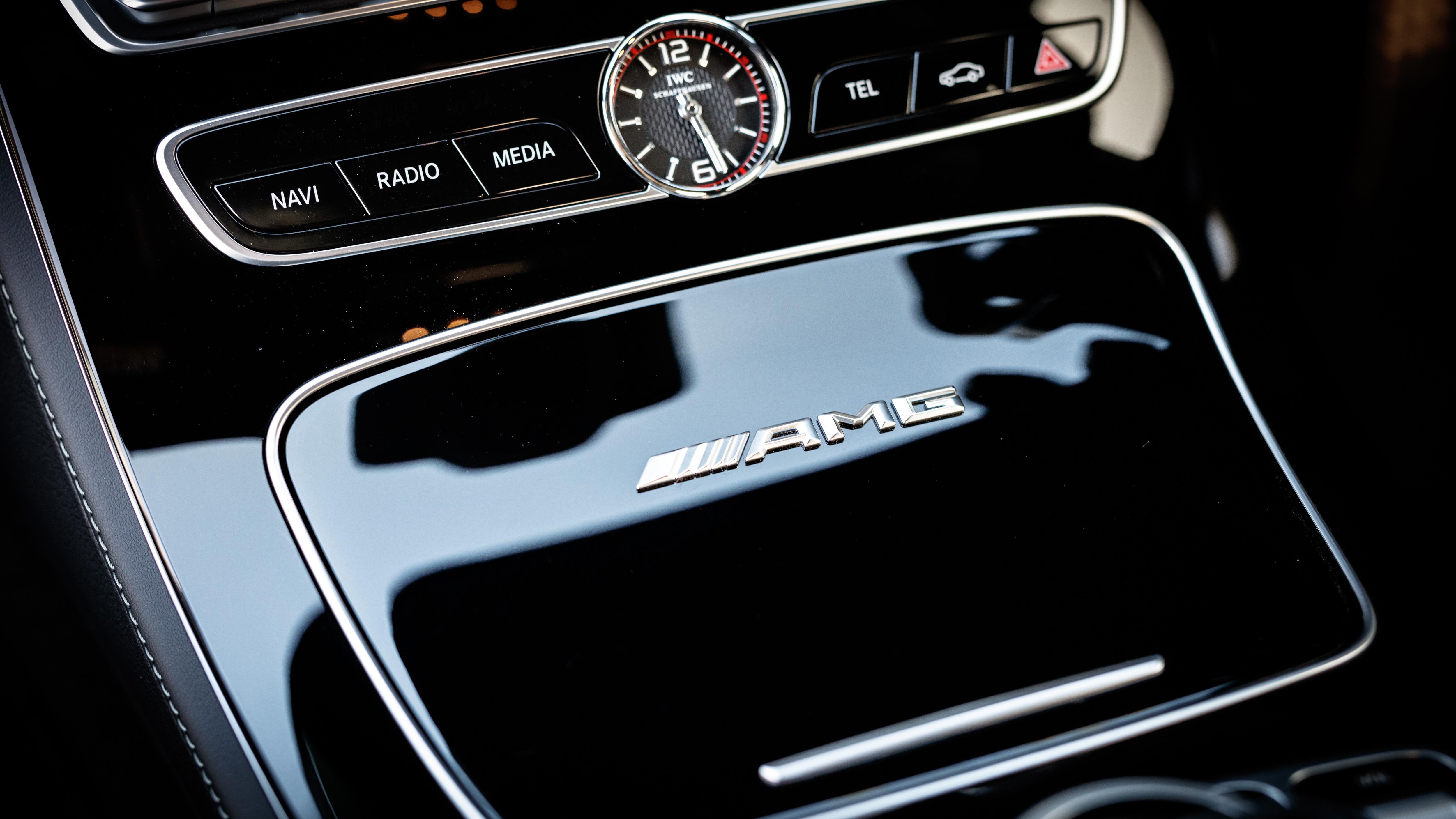 Mercedes-AMG E63 S+ estate interior