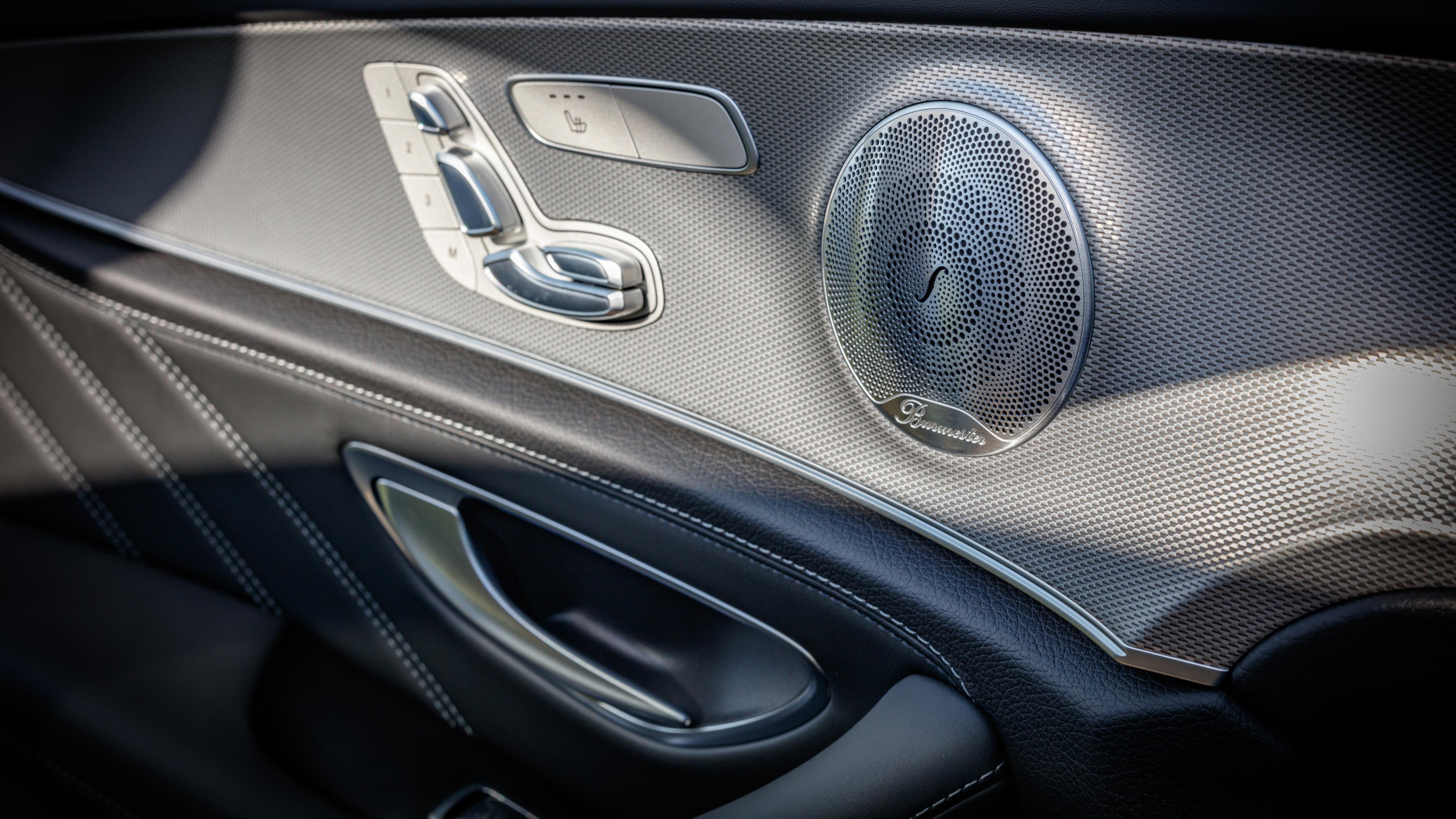 Mercedes-AMG E63 S+ estate interior details