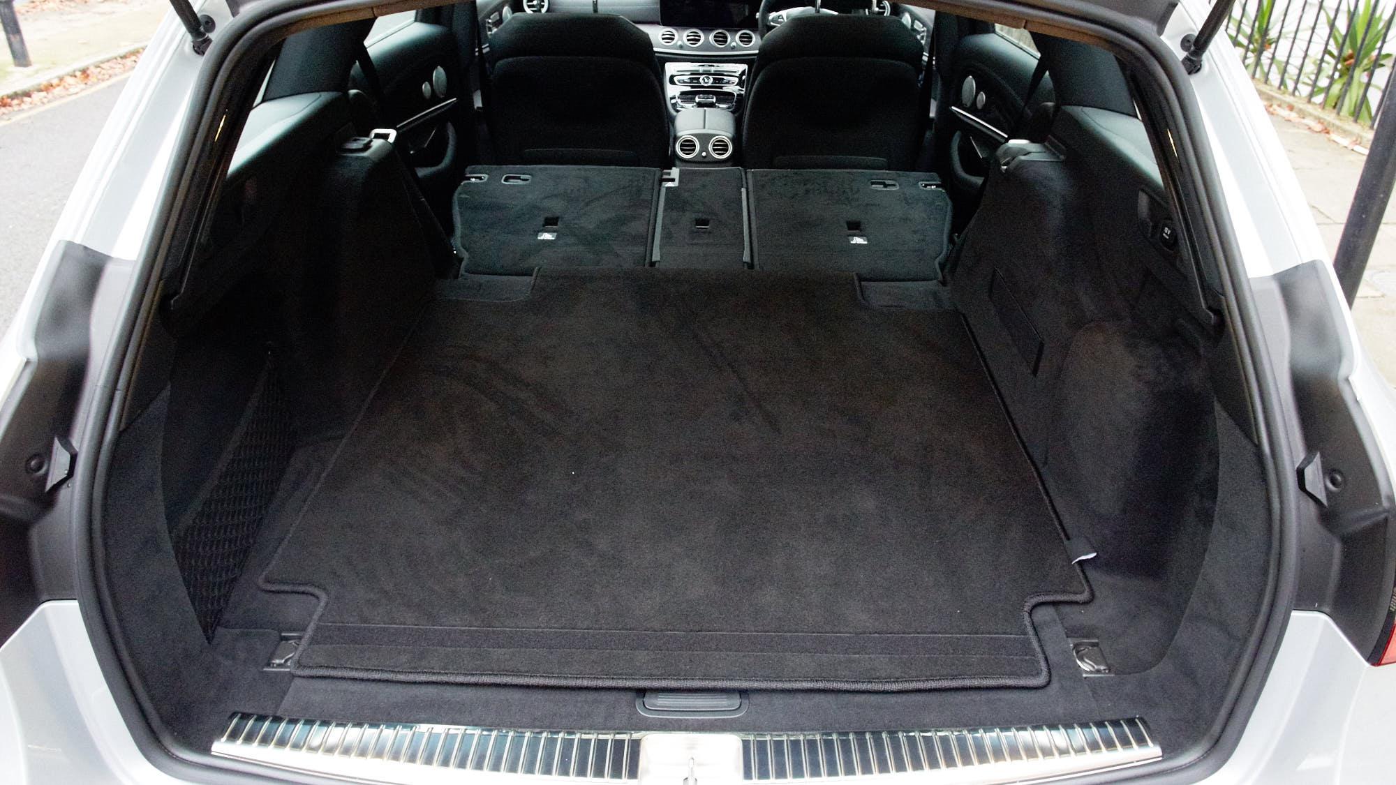 Mercedes-AMG E63 S+ estate interior rear