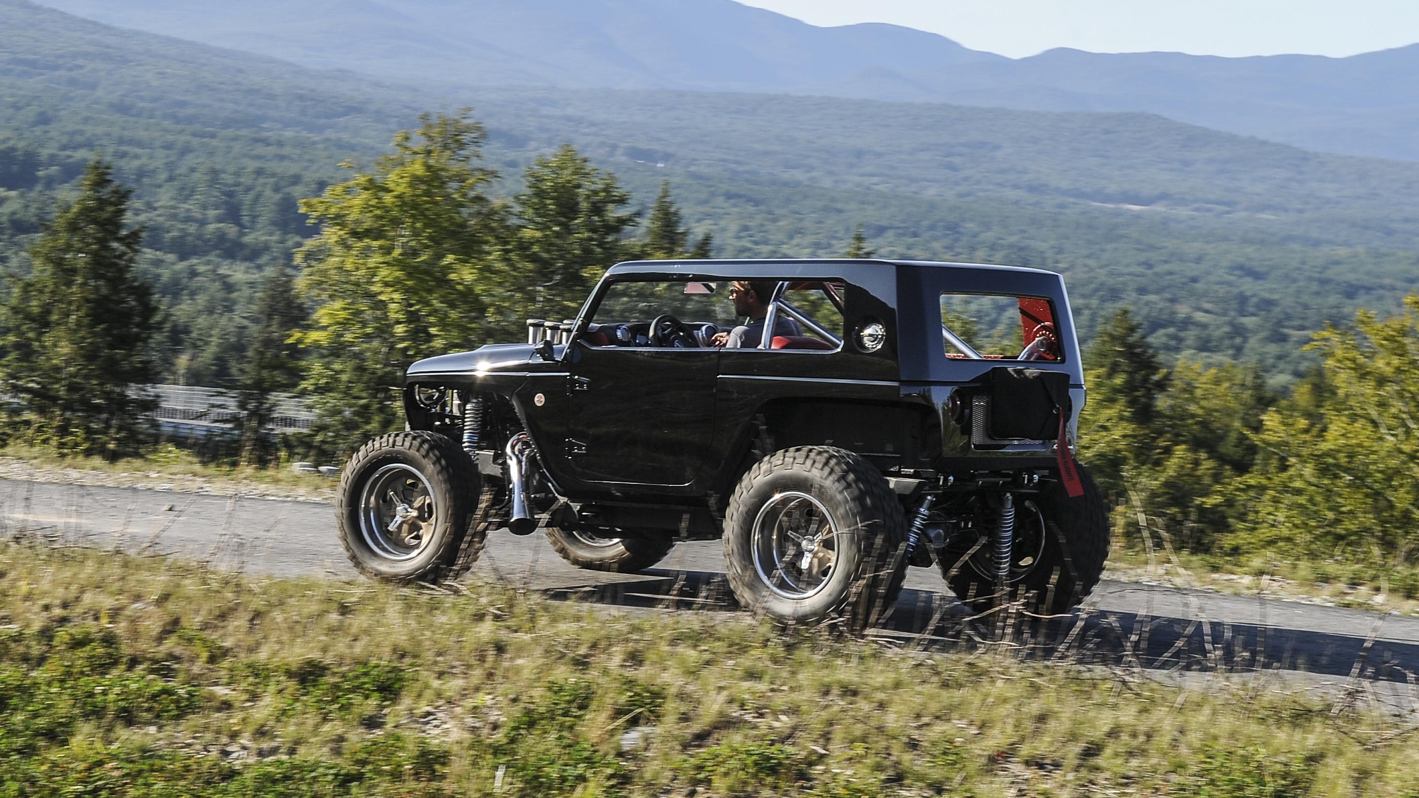 Jeep Quicksand Concept side