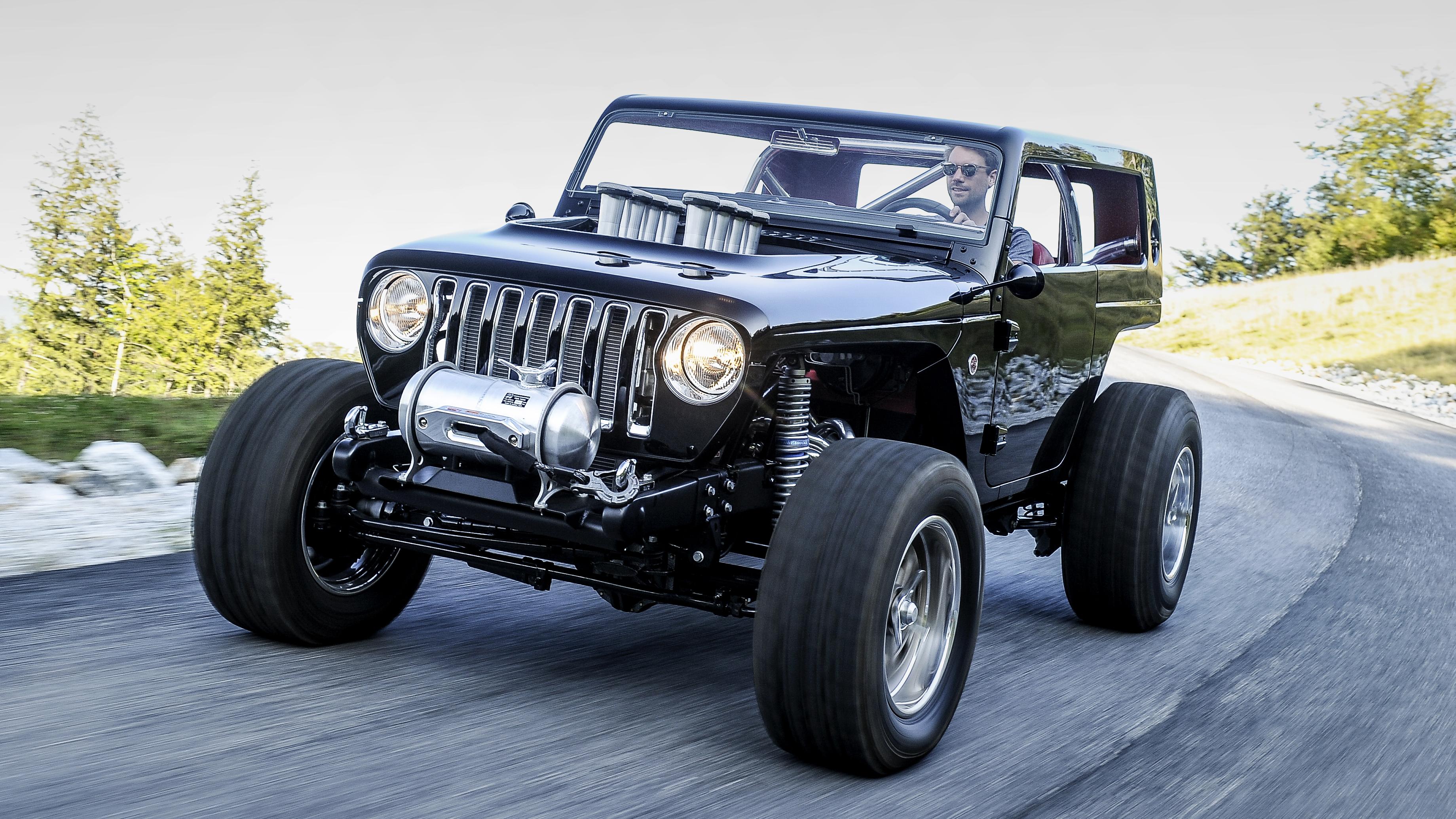 Jeep Quicksand Concept front quarter