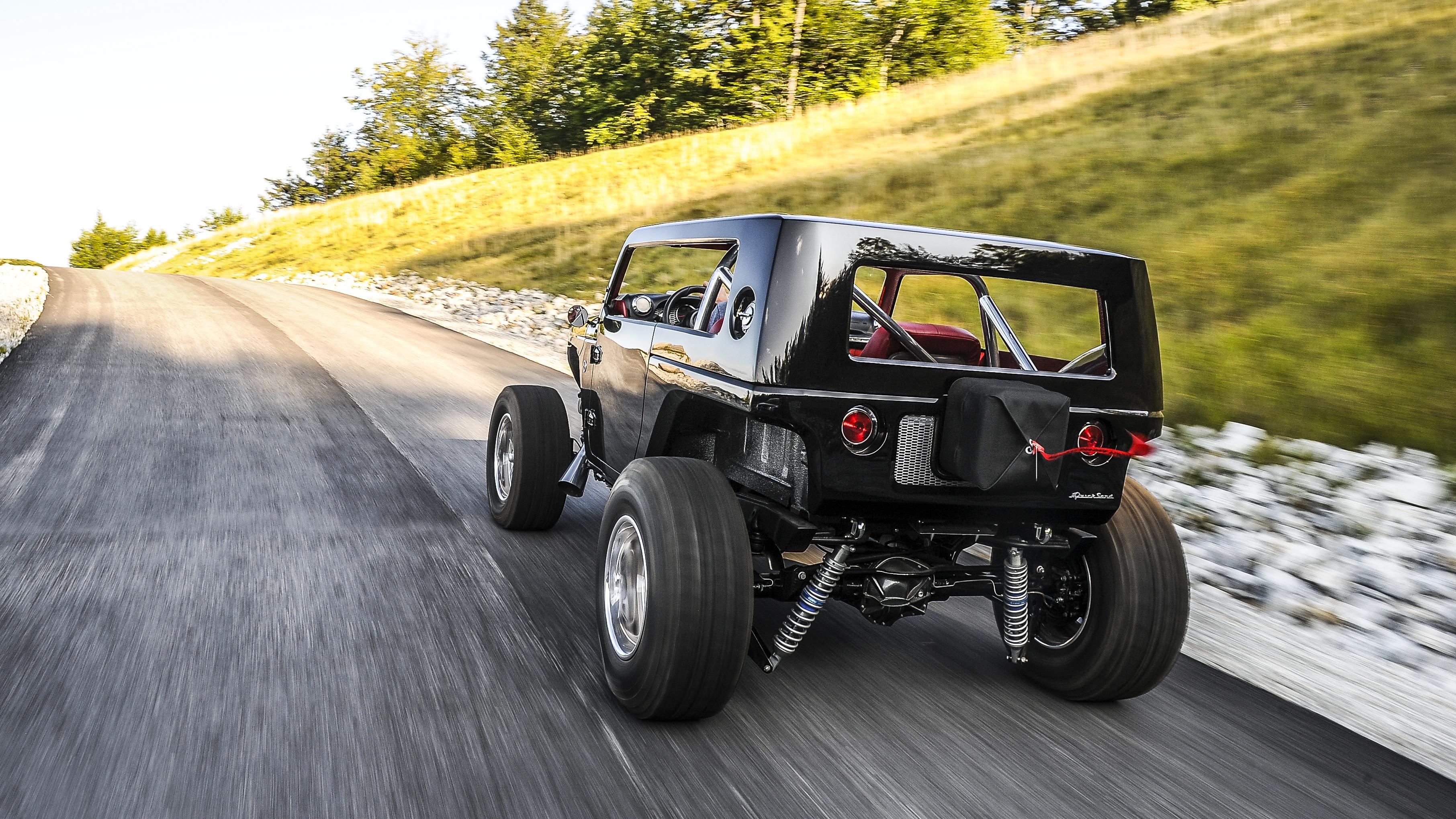 Jeep Quicksand Concept rear quarter
