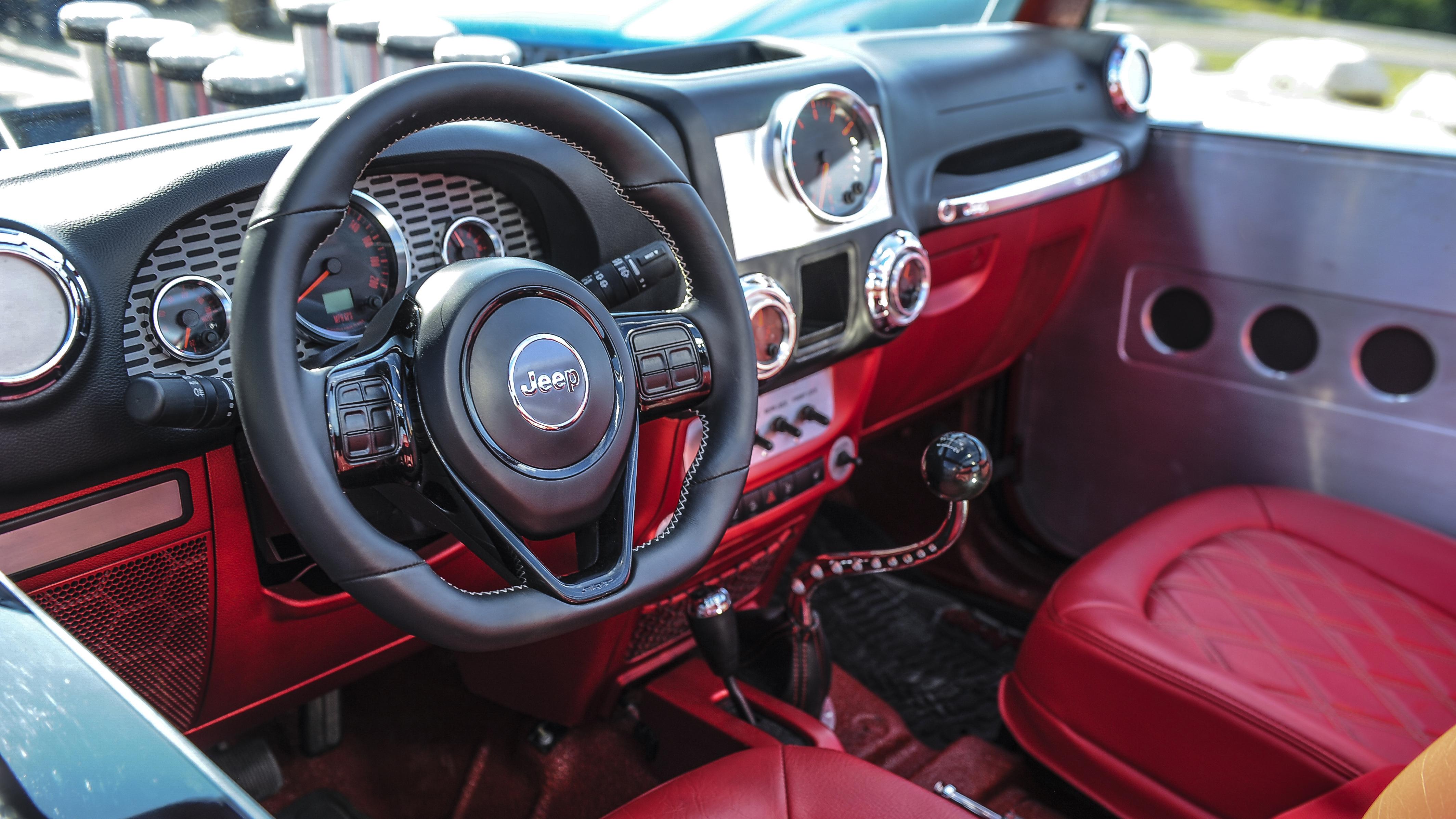 Jeep Quicksand Concept interior