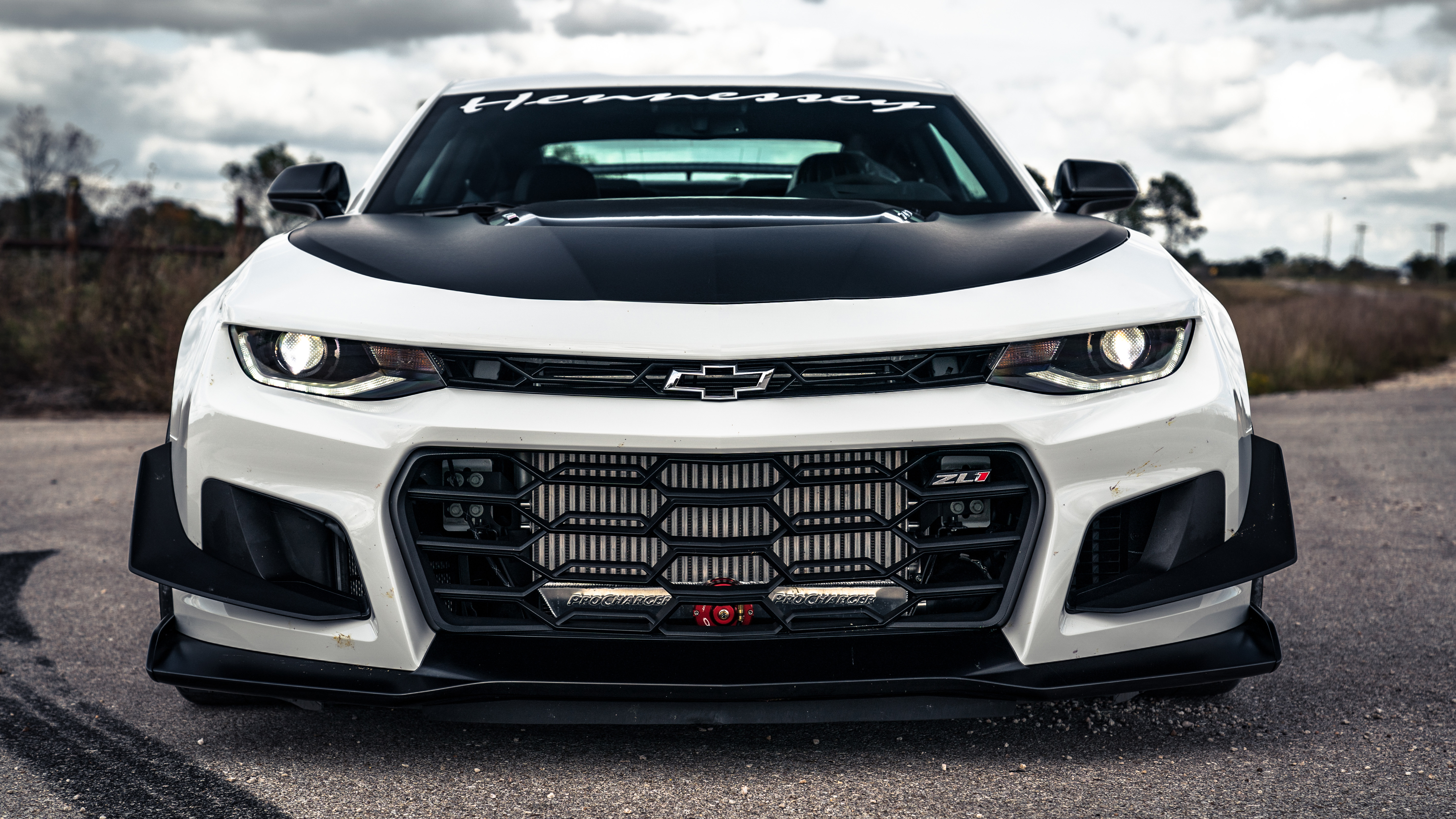 Hennessey Exorcist Camaro front