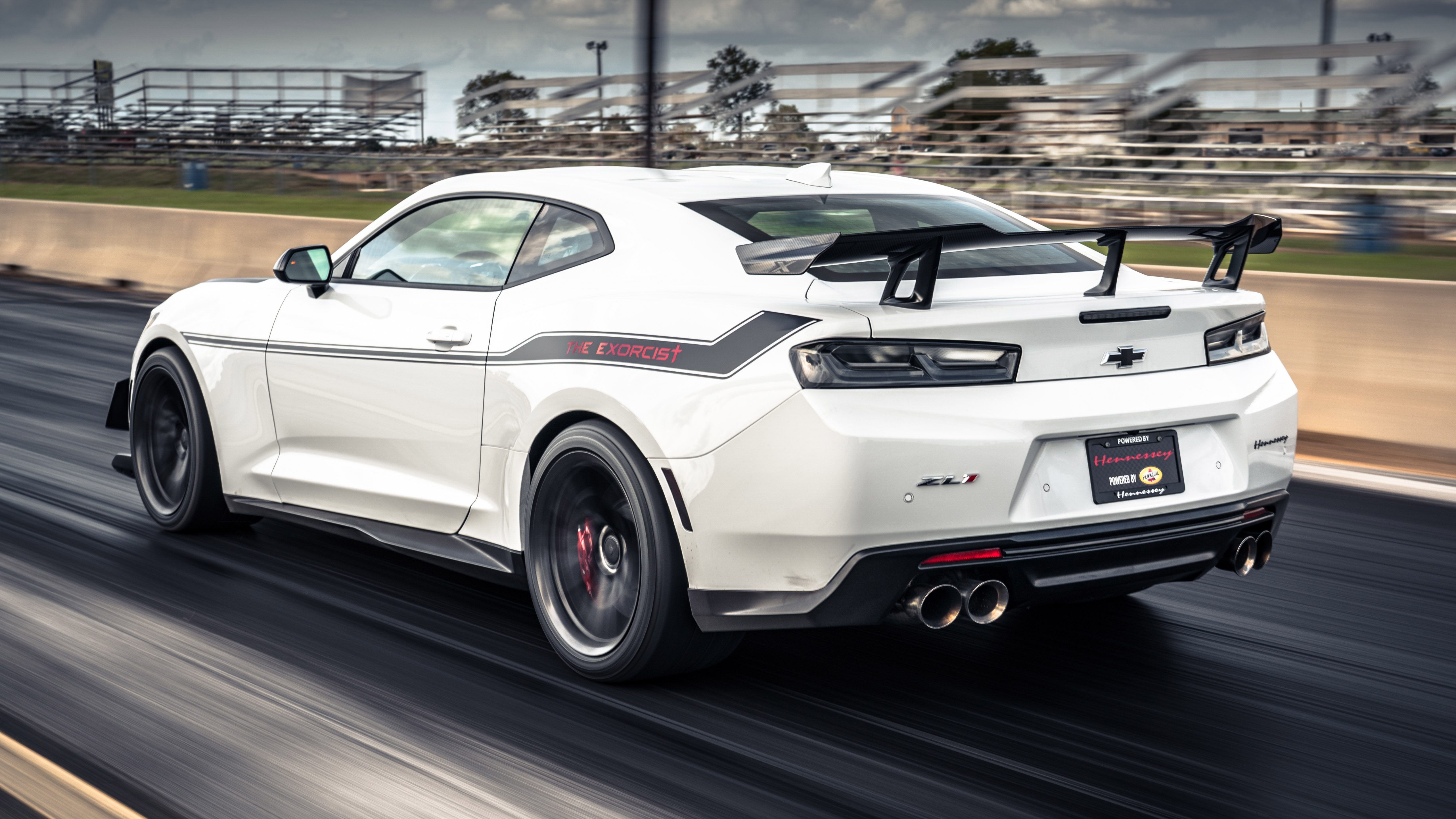 Hennessey Exorcist Camaro rear three quarters