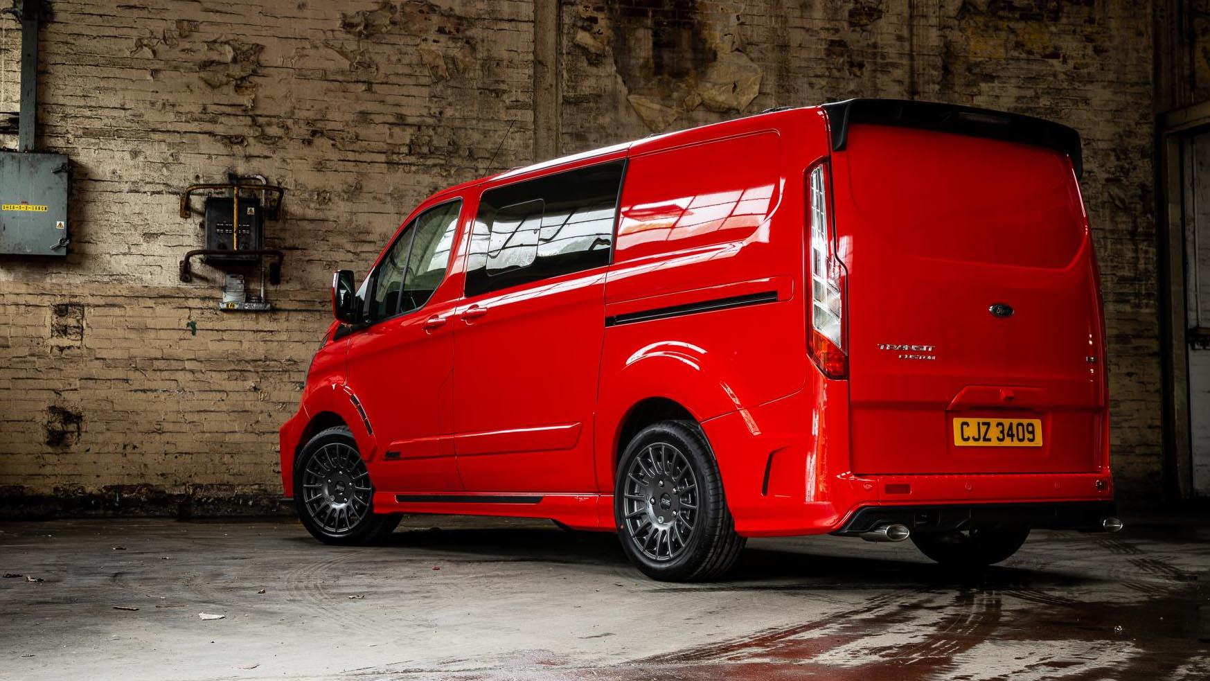 MS-RT Ford Transit Custom review: £33k sports-van driven ...