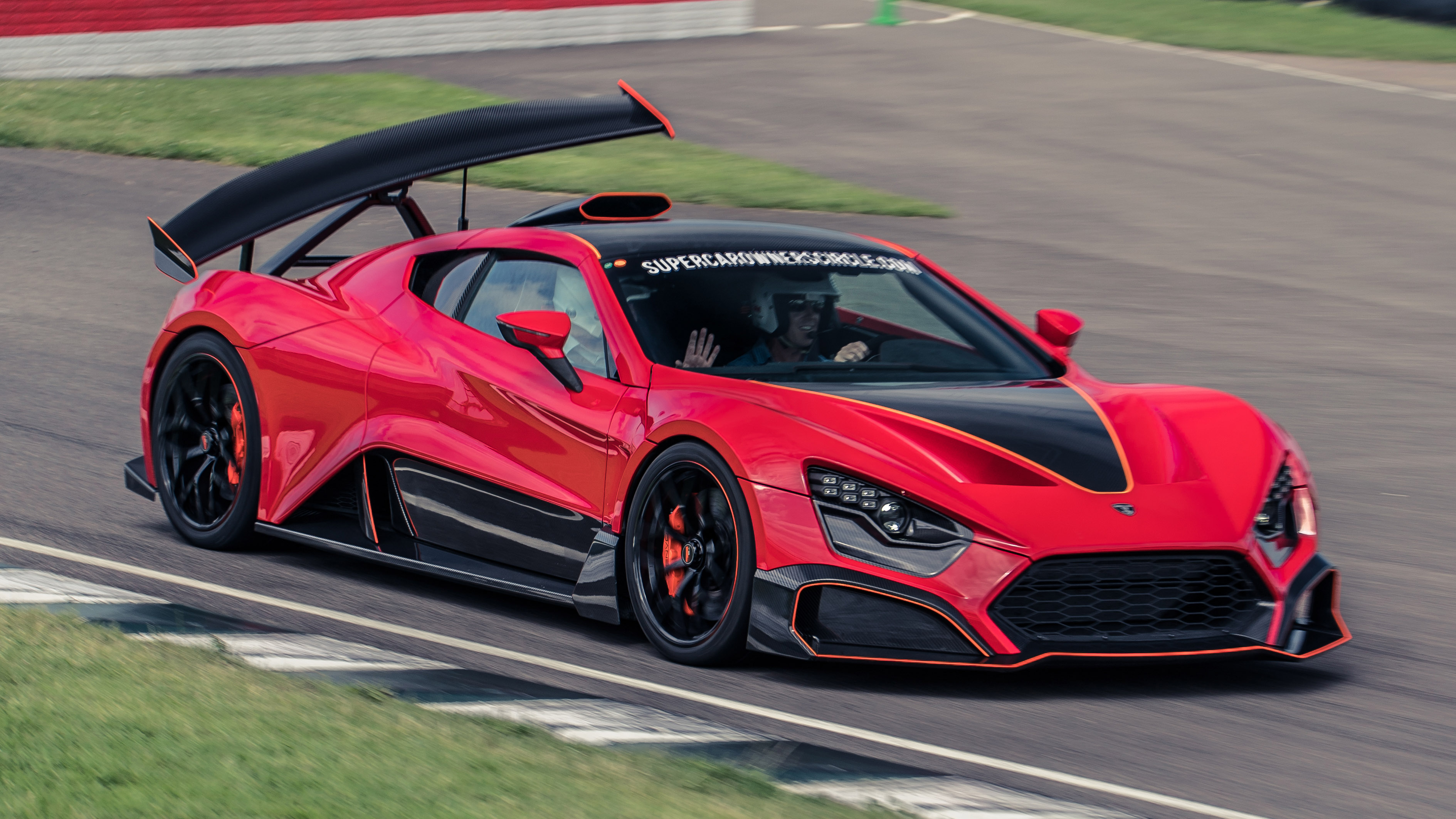 It's the car with the bonkers wing!You've got it, it's called the Zenvo TSR-S and it does something we've never seen before. Oh, we've heard of active aero ...