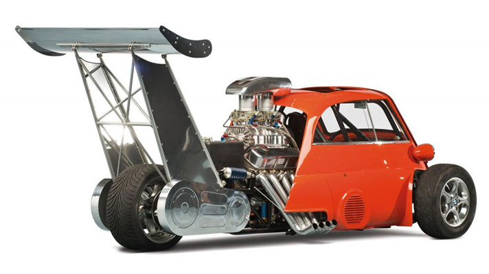 For Sale 730hp Bmw Isetta Dragster