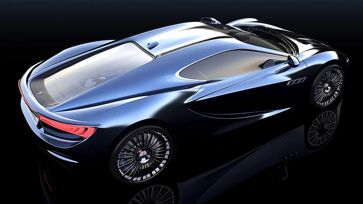 This Maserati Bora Concept Is Gorgeous