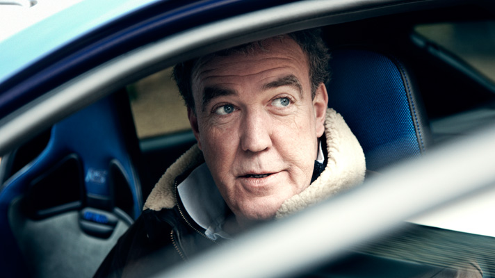 Jeremy Clarkson in the new Ford Focus RS