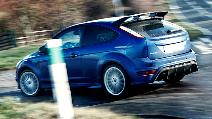 Clarkson on the new Focus RS