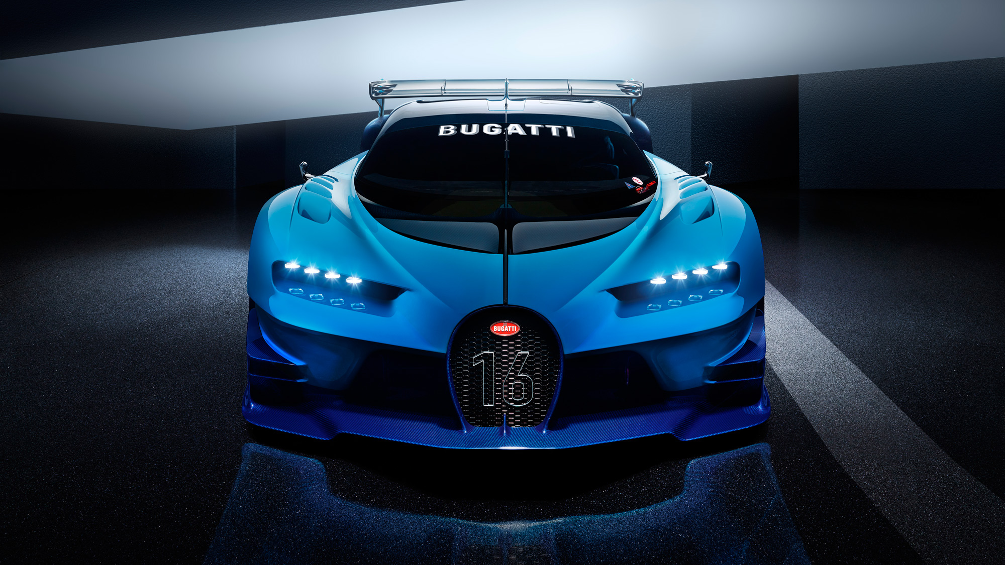This is the Bugatti Vision Gran Turismo, and it'll do 250mph+ | Top Bugatti Vision Gt Horsepower on renault alpine gt vision, subaru viziv gt vision, bmw gt vision, mitsubishi gt vision,