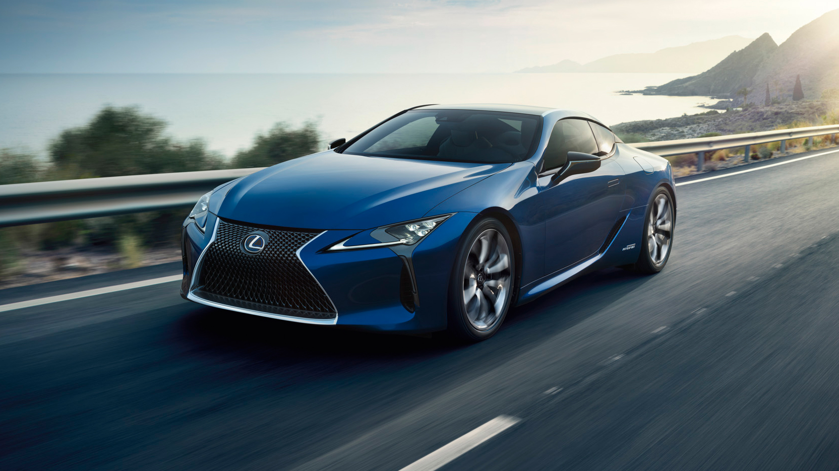 Lexus Reveals The 467bhp Lc 500 And It Is Good Top Gear