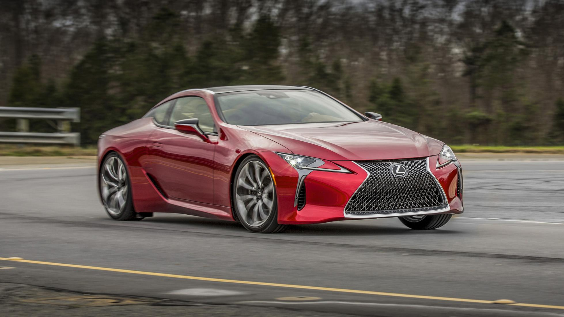 Lexus trademarks LC 500 & LC 500h, based on LF-LC