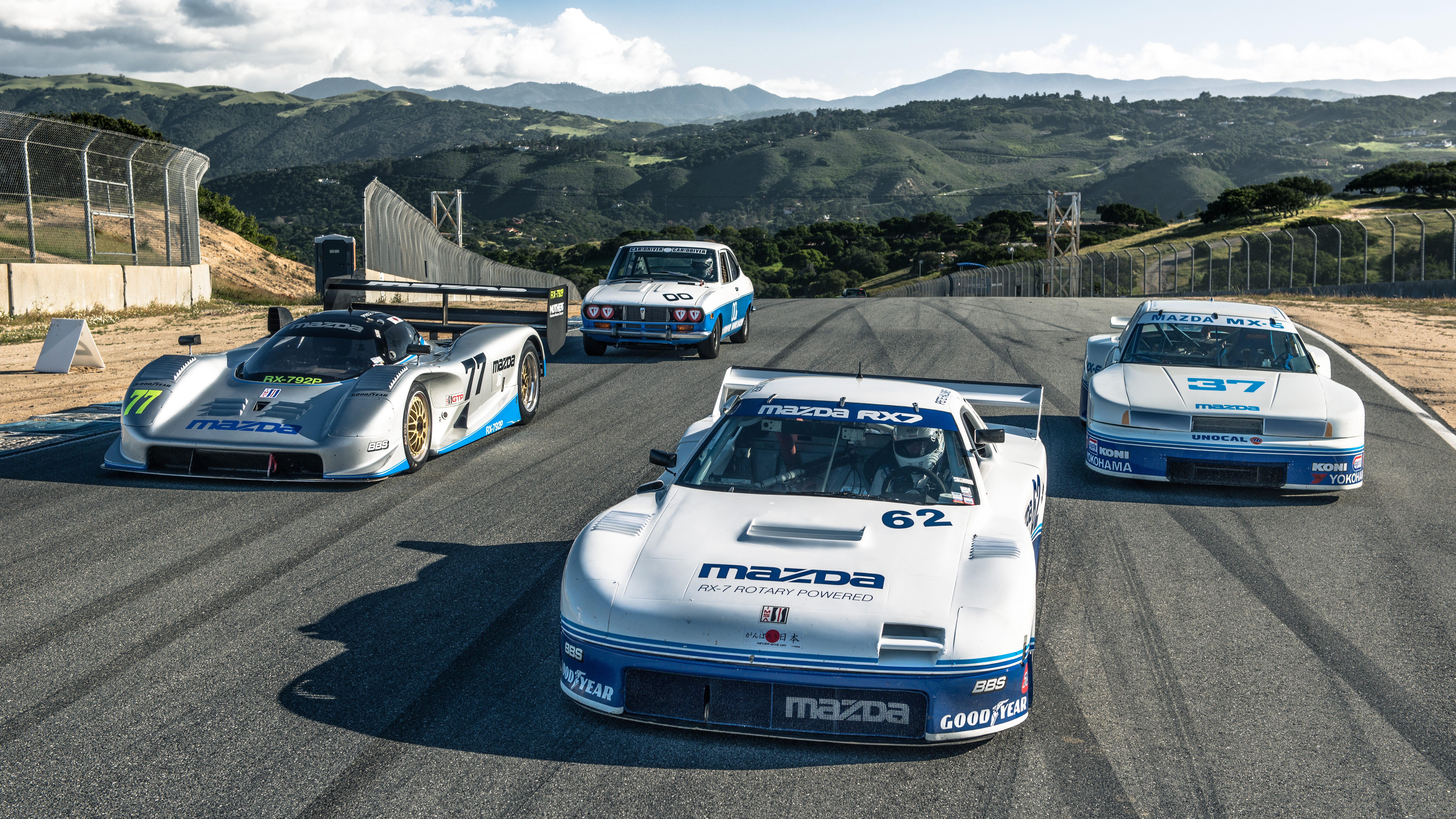Wallpapers Mazdas Rotary Engined Classic Racers