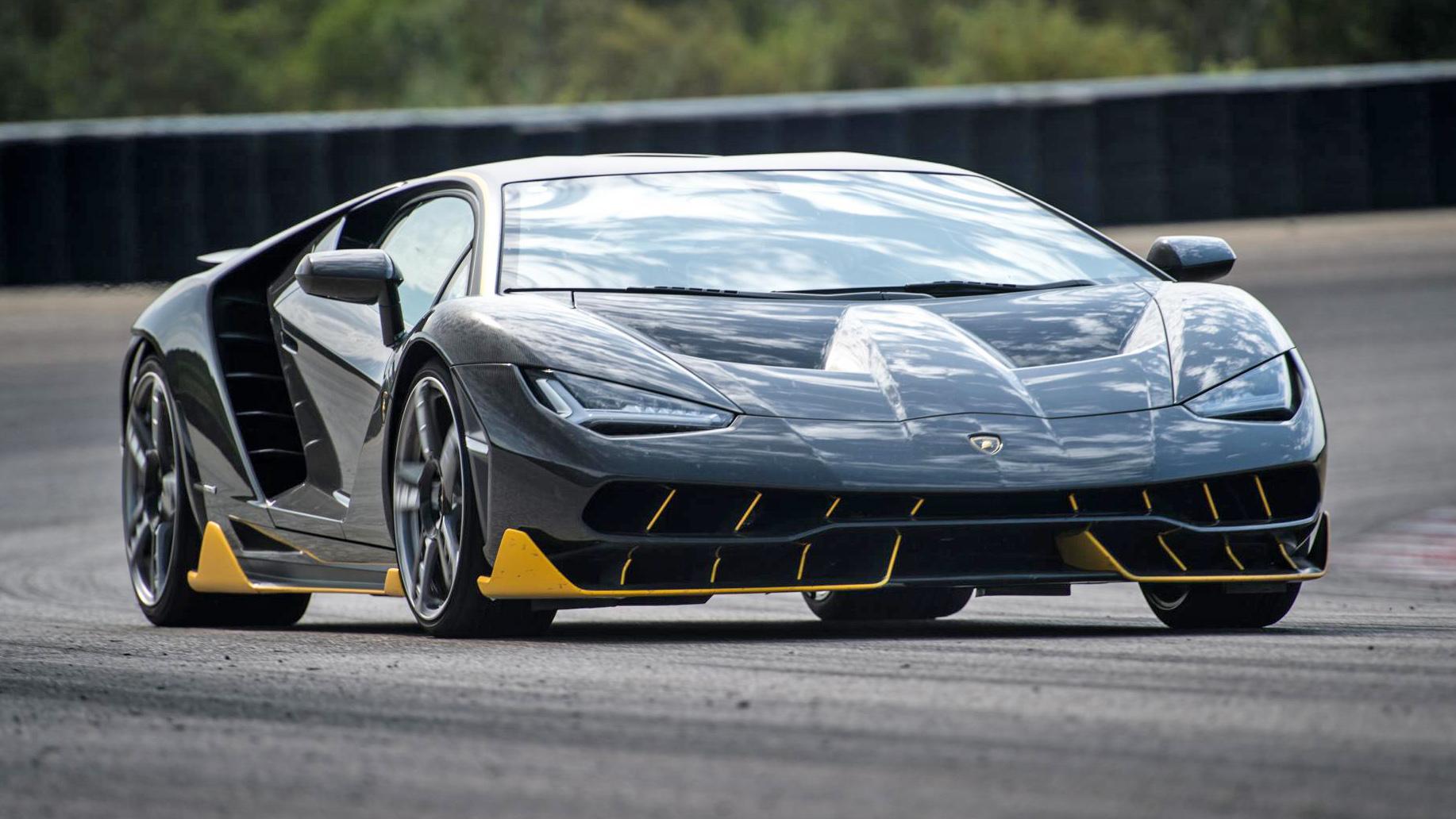Video: The Lamborghini Centenario On Track