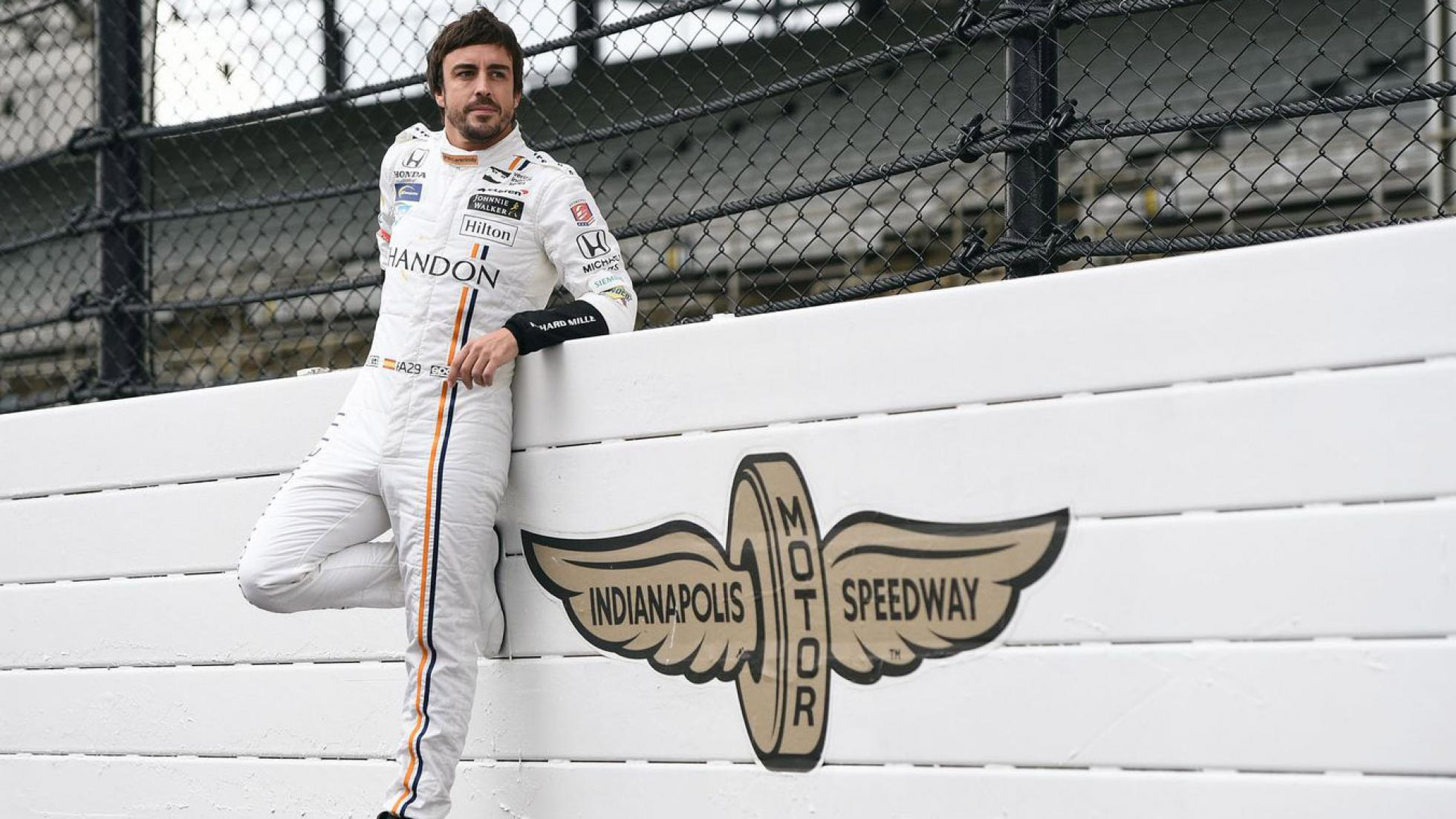 Fernando Alonso Indianapolis Speedway
