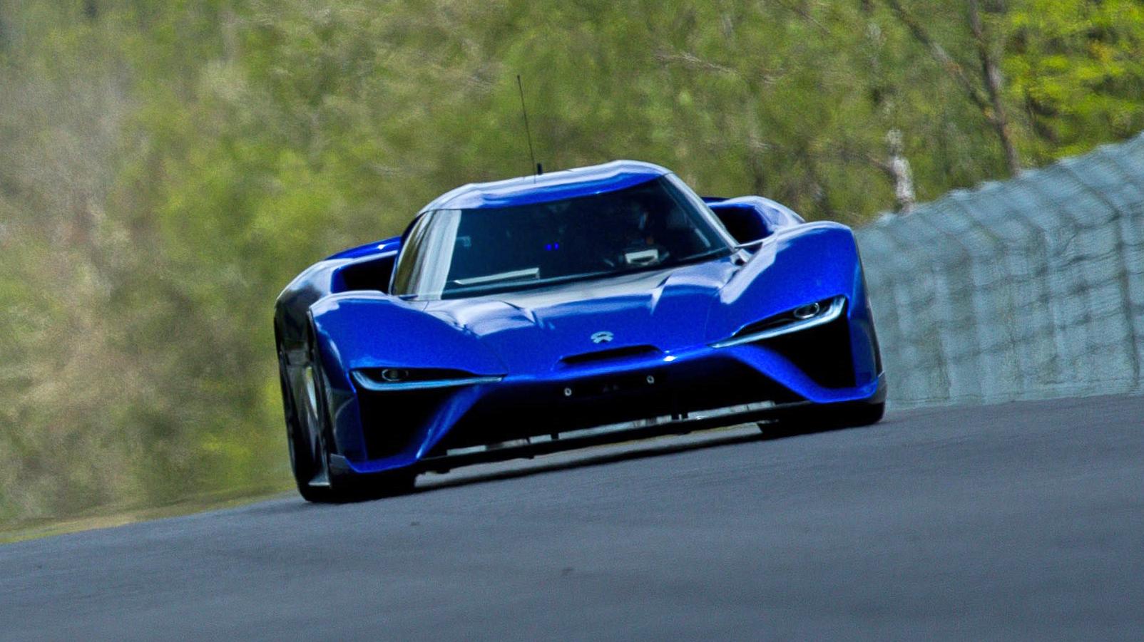 NIO EP9 electric supercar
