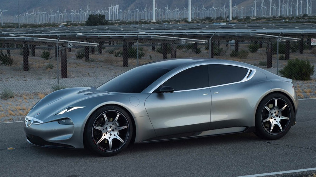 Fisker EMotion world exclusive image side