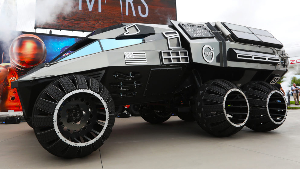 NASA Mars Rover Concept side