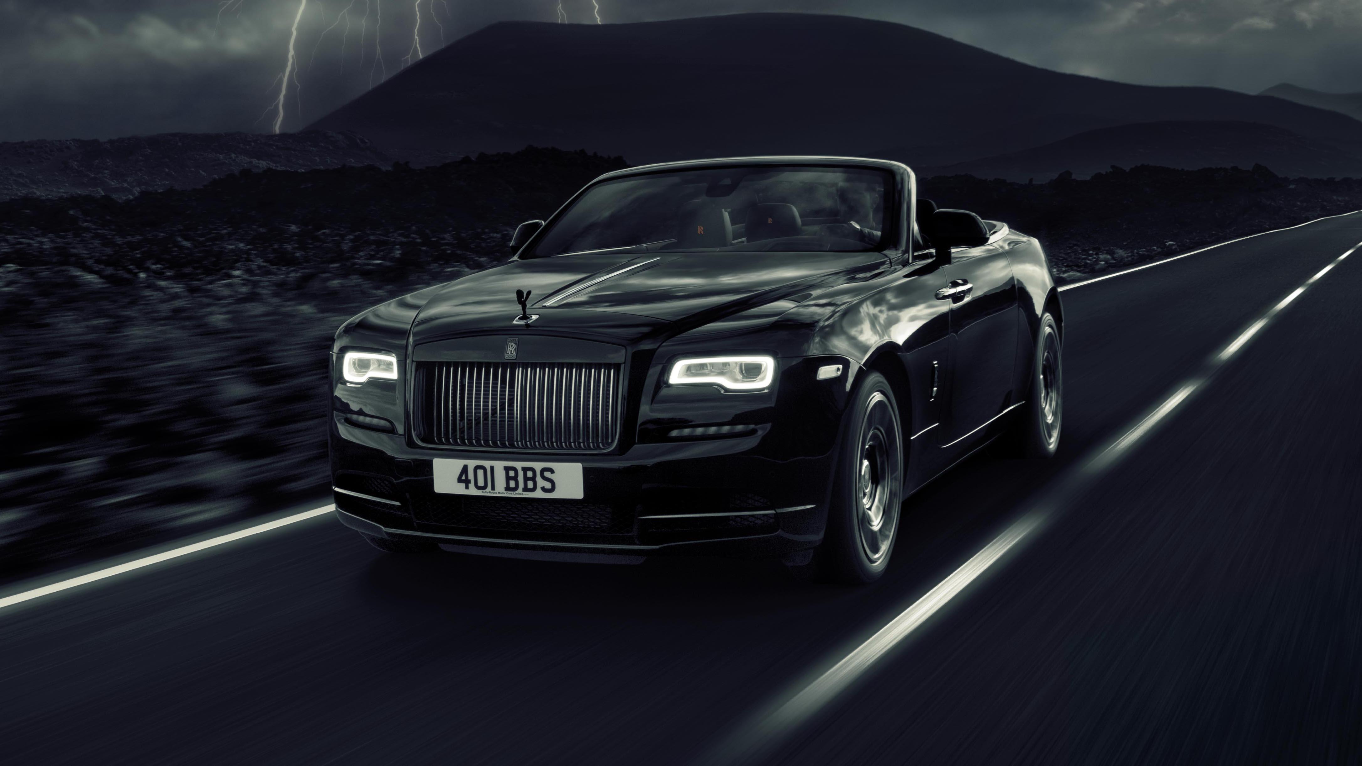 Rolls Royce Dawn Black Badge front quarter