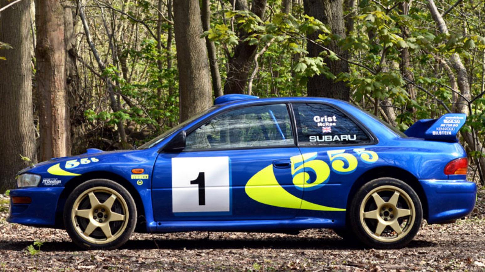 Subaru Impreza Colin Mcrae 001 side