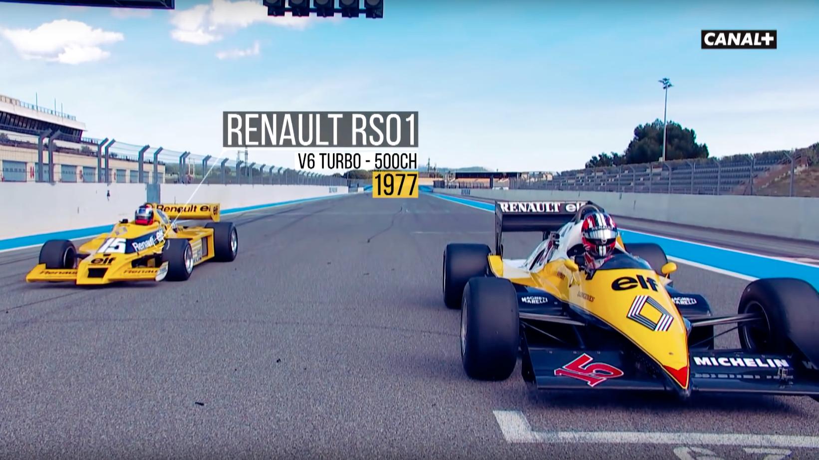 Nico Hülkenberg and Turbo F1 cars