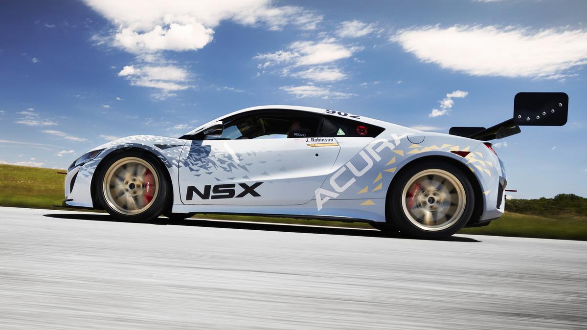 Honda Acura NSX side view