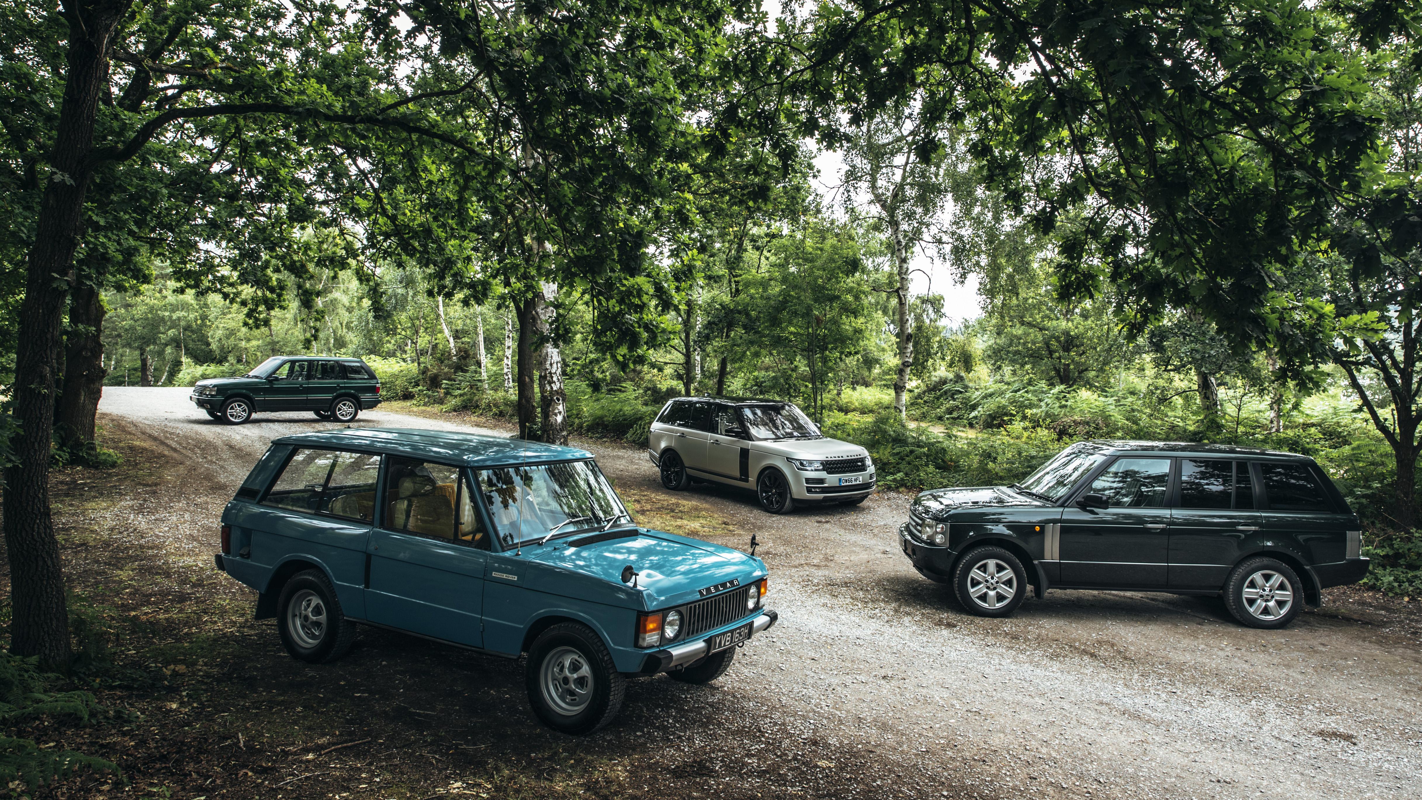 Range Rover Velars Goodwood Festival of Speed