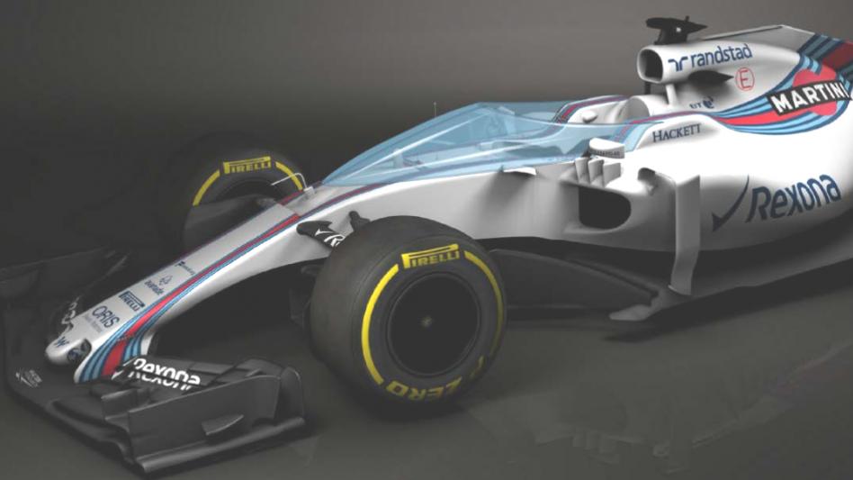 F1 car proto front quarter