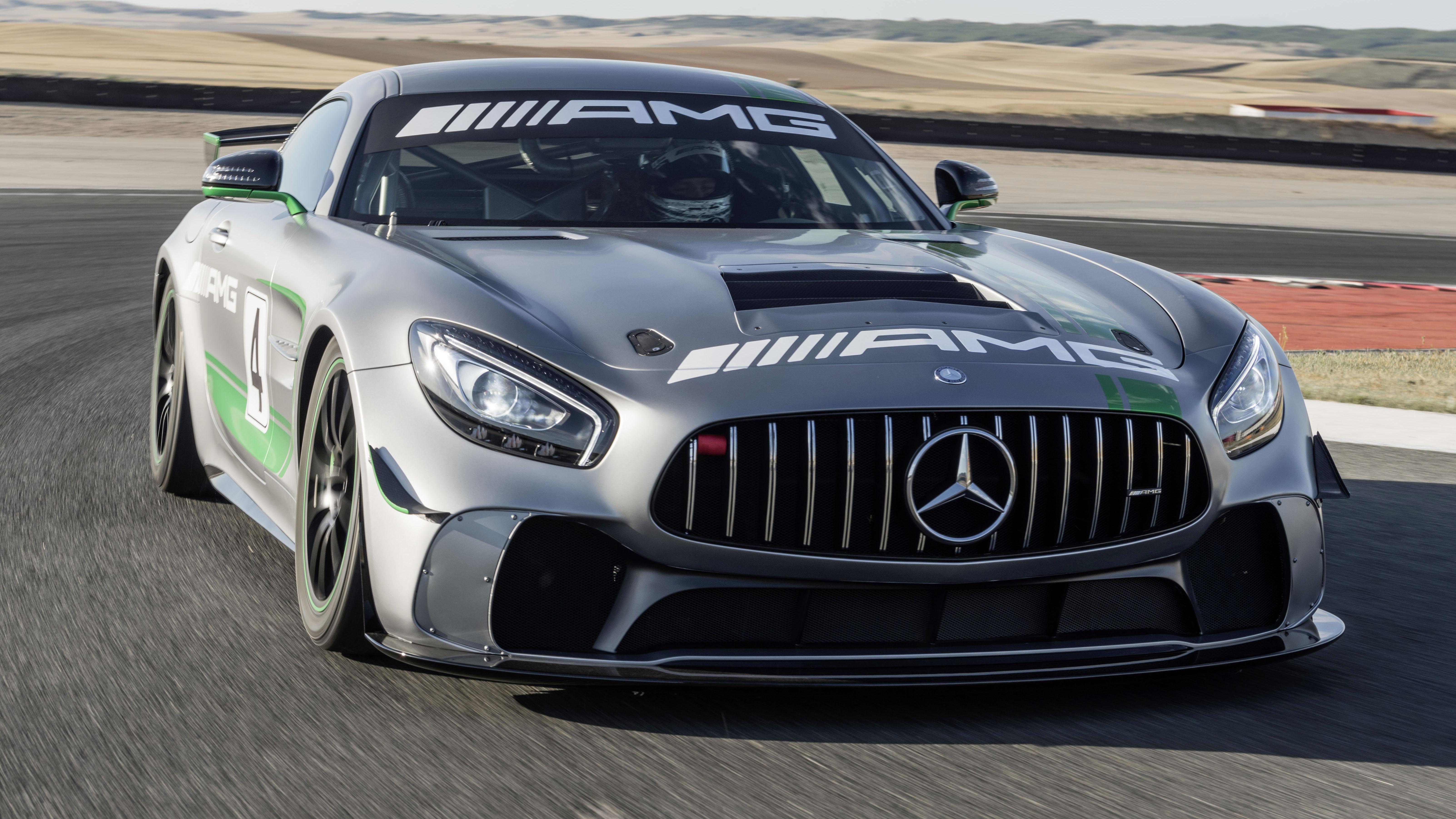 Mercedes-AMG GT4 front quarter
