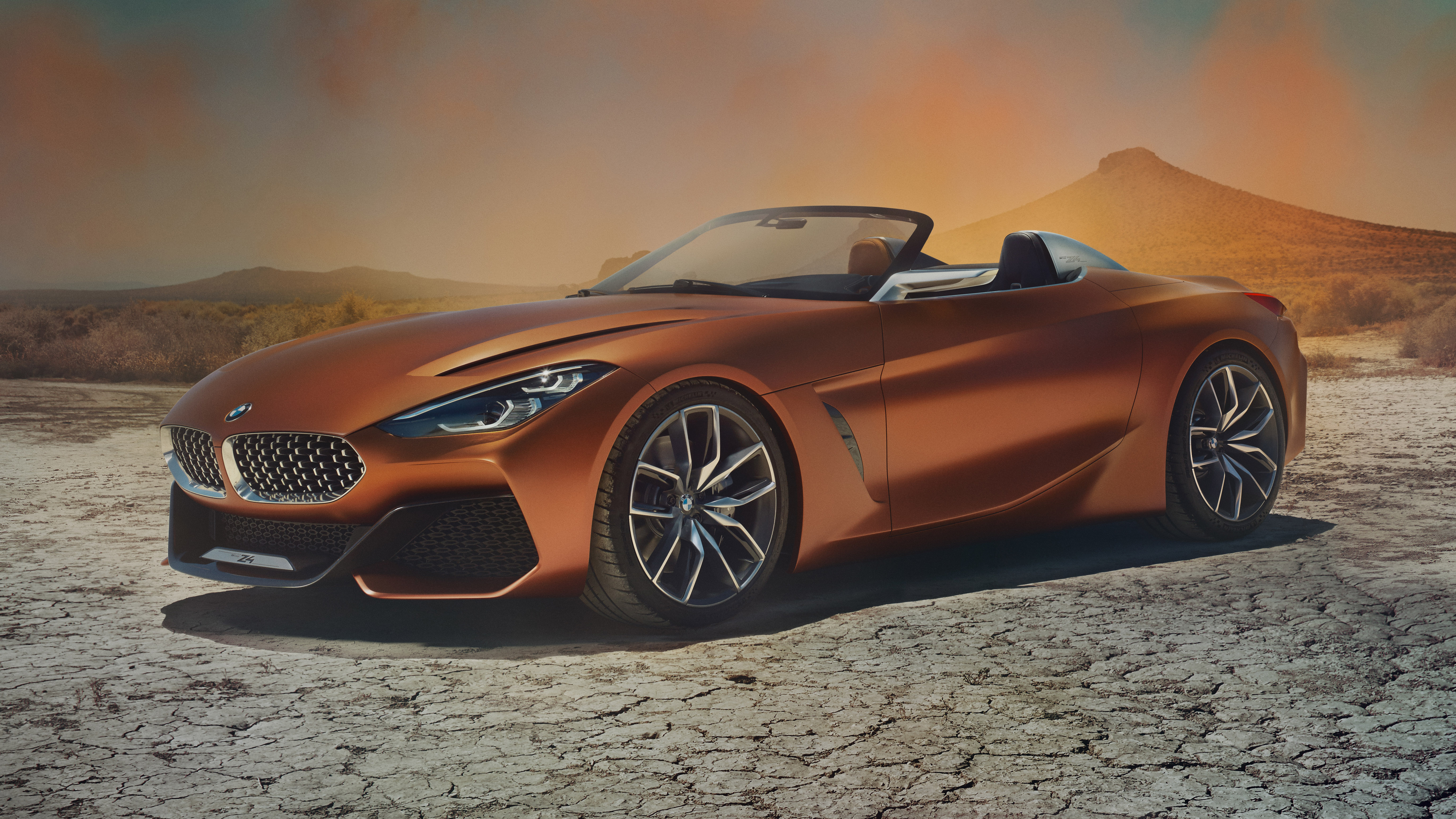 BMW Z4 front quarter
