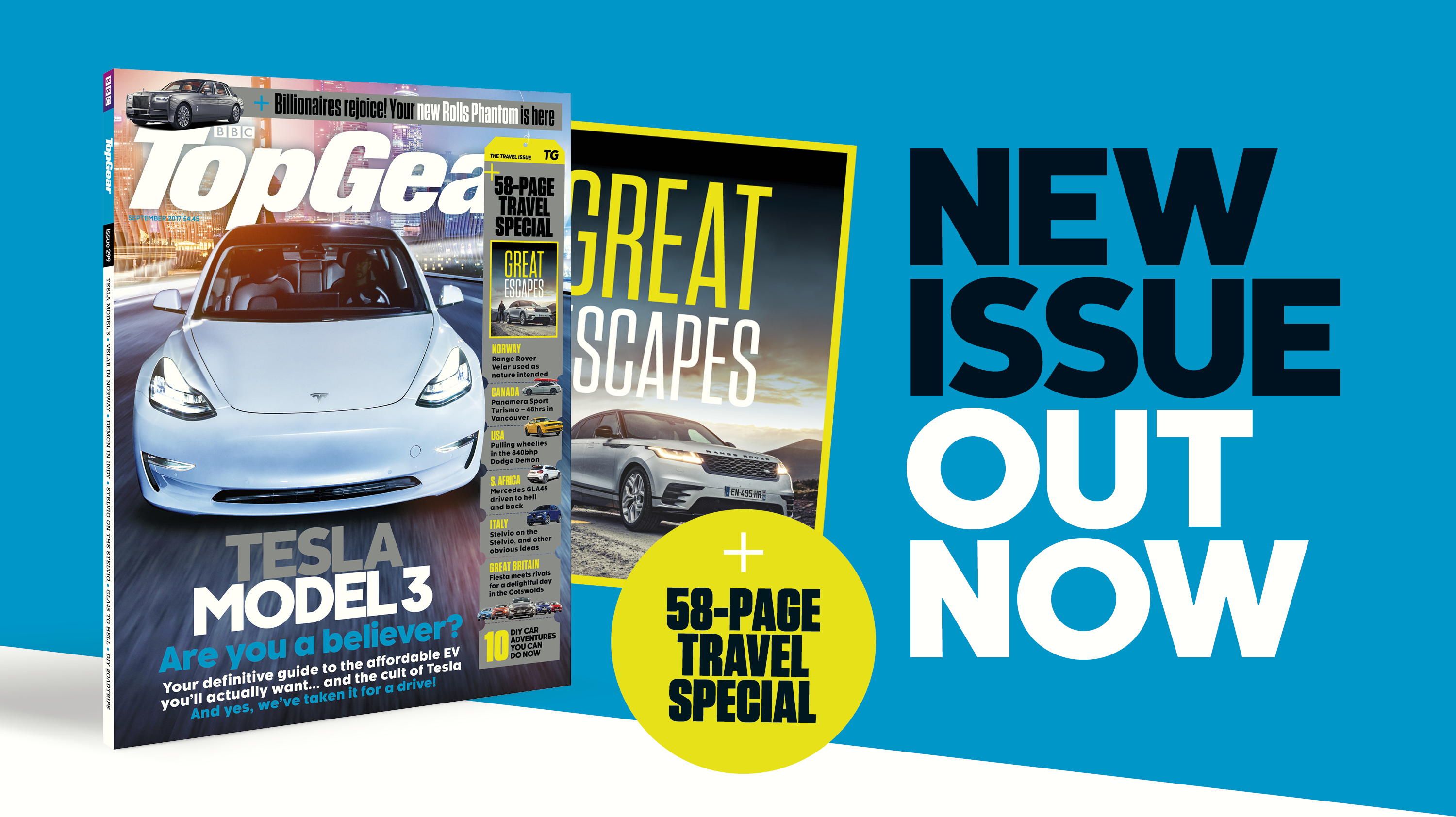 New Top Gear magazine