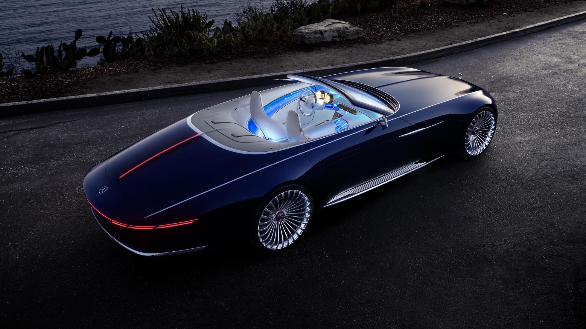 Vision Mercedes-Maybach 6 Cabriolet rear quarter