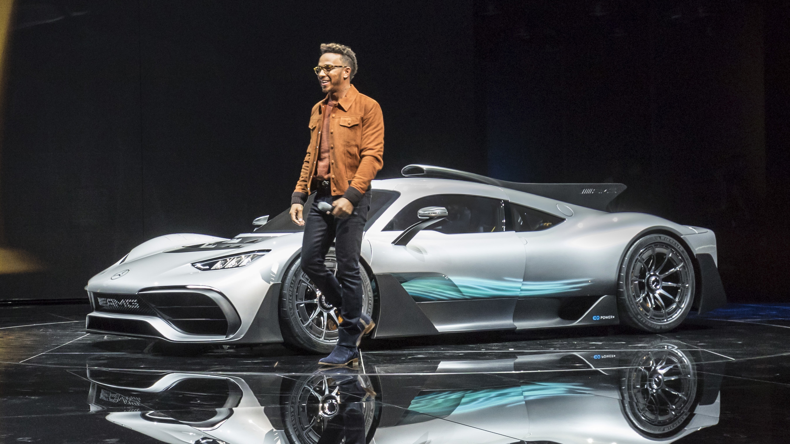 Lewis Hamilton and Mercedes-AMG Project One