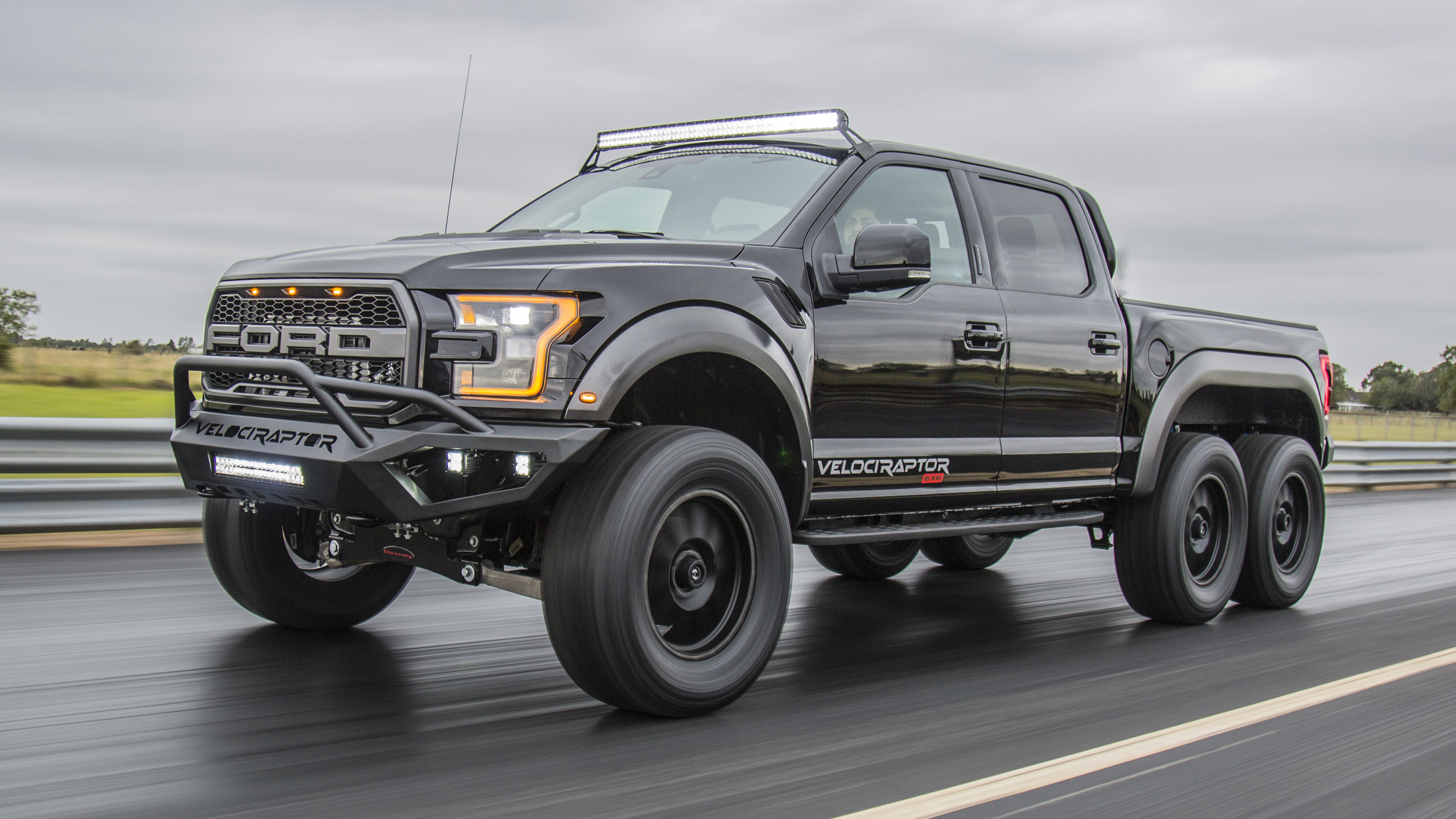 New Shelby Truck >> This is the Ford F-250 MegaRaptor truck   Top Gear