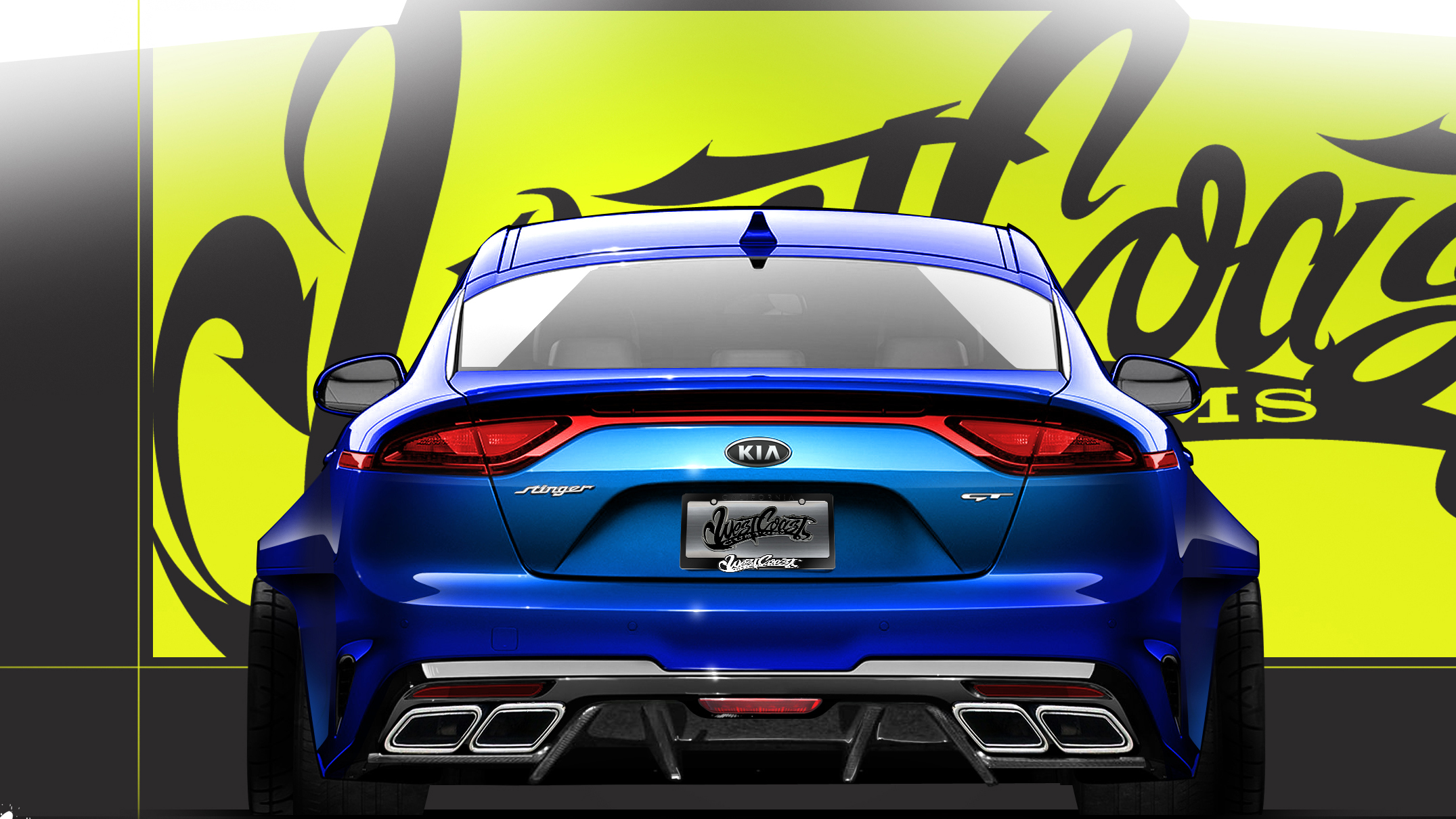 Coast High Performance >> This is the West Coast Customs-modified Kia Stinger | Top Gear
