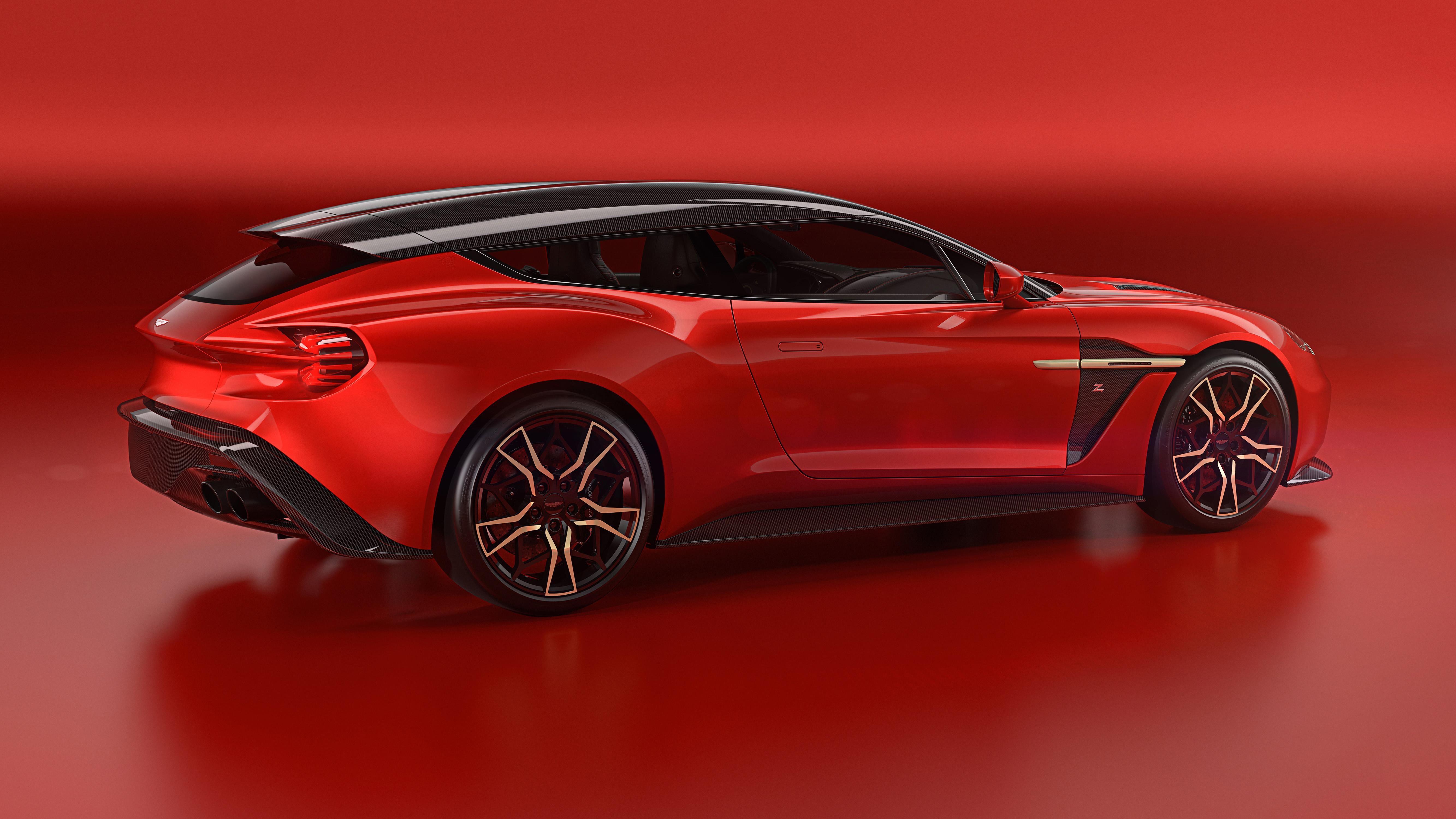 Aston Martin Vanquish Zagato Shooting Brake side
