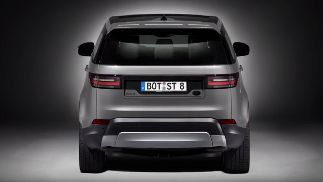 This Is The Front Of The New Land Rover Discovery Top Gear