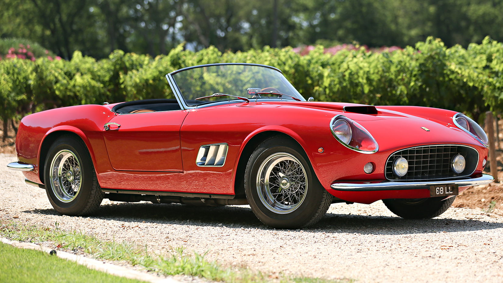Will this Ferrari 250 GT California Spider fetch $18m? | Top Gear