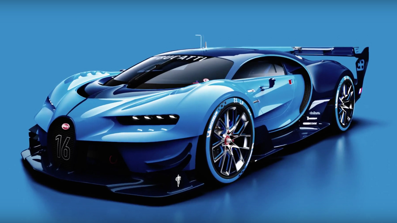 Video: here's how Bugatti's incredible Vision GT concept was created on