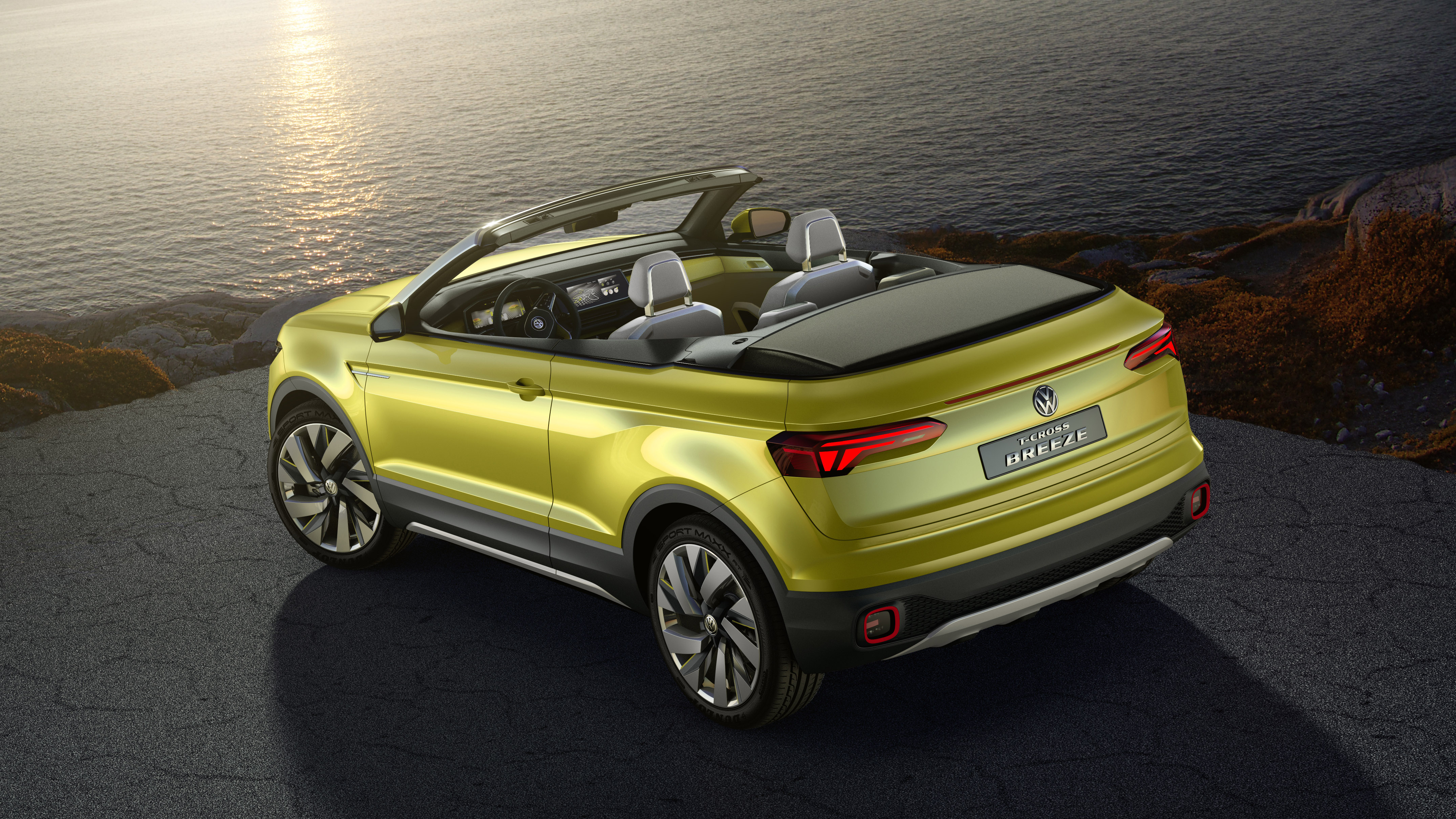 The Vw T Cross Is A Polo Sized Convertible Suv Top Gear