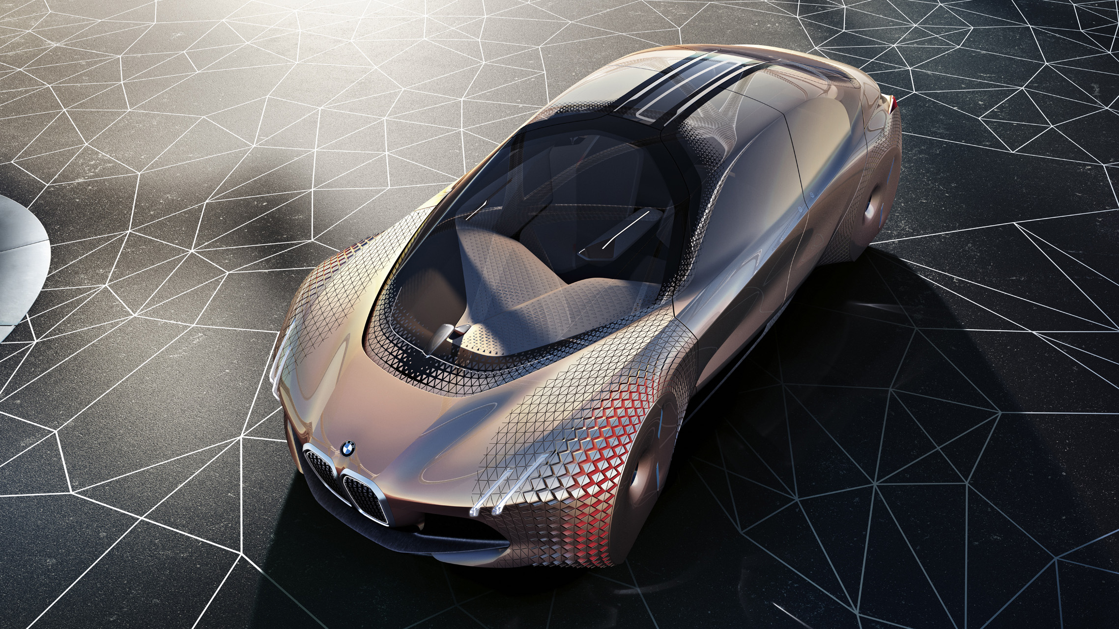 Revealed The Bmw Vision Next 100 Concept Top Gear