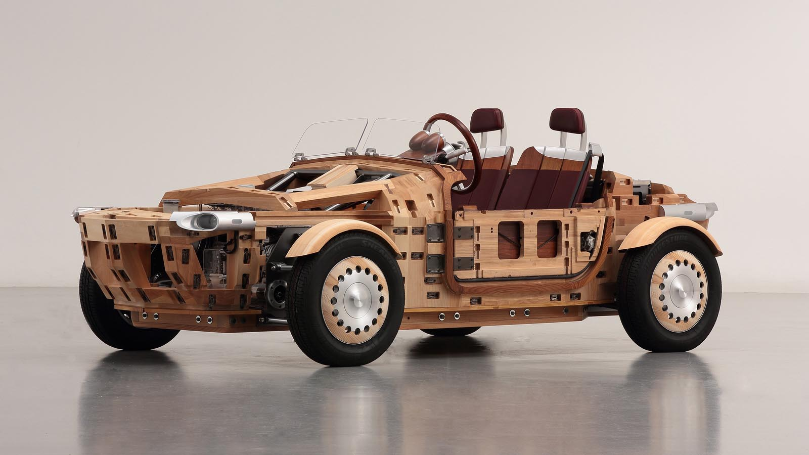how to build a car out of wood