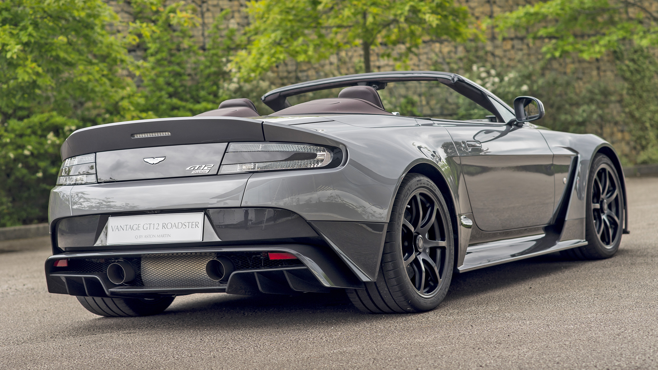 This one-off Aston Vantage GT12 Roadster will be LOUD | Top Gear