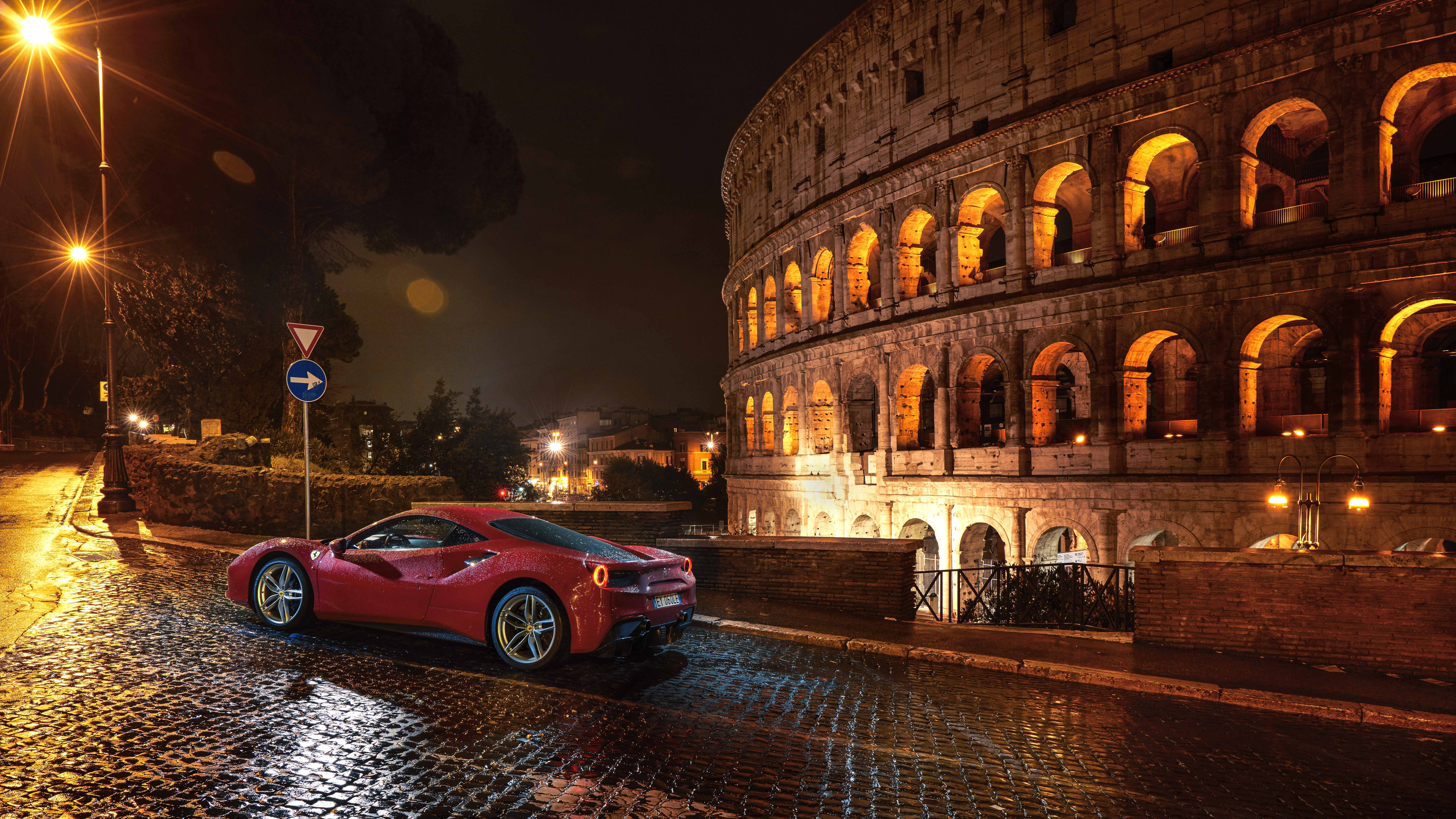wallpapers km   ferrari  gtb top gear