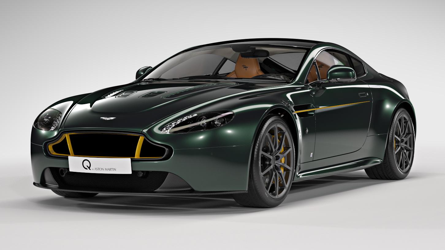 This Aston Martin Vantage S Celebrates 80 Years Of The